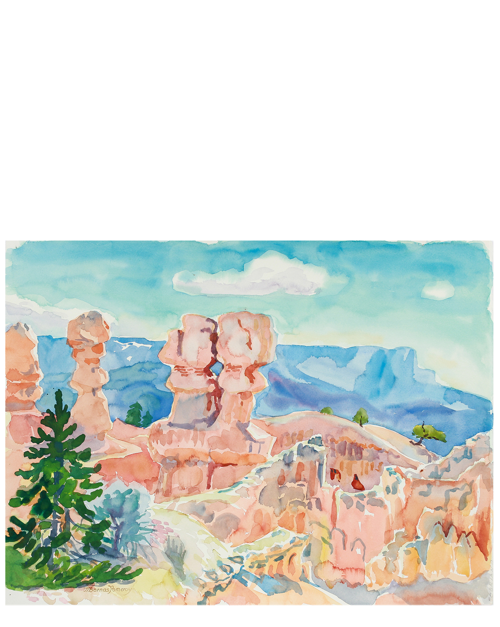 """""""Morning on the Rim of Bryce Canyon"""" by Mary Pomeroy,"""
