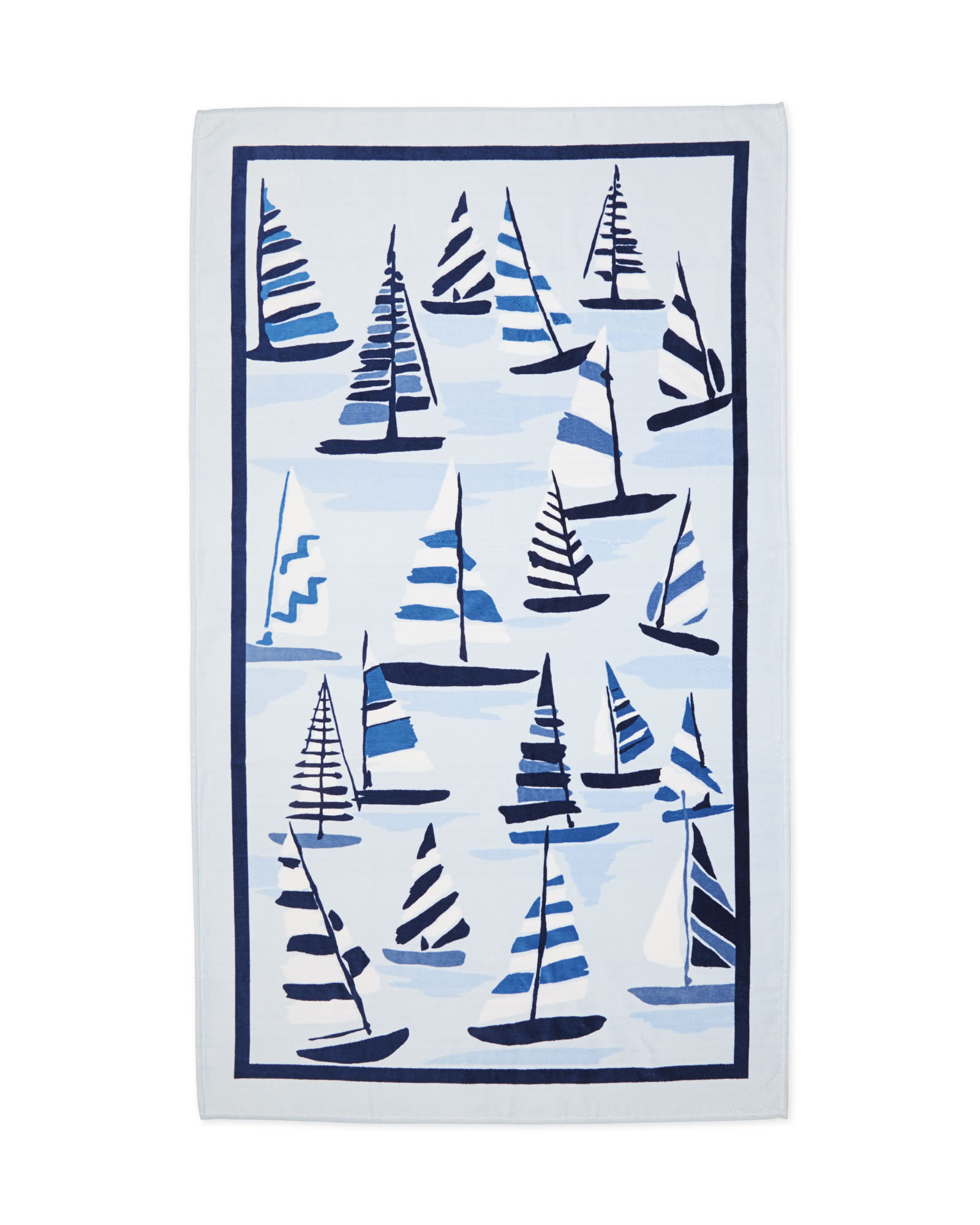 Sailboat Beach Towel,