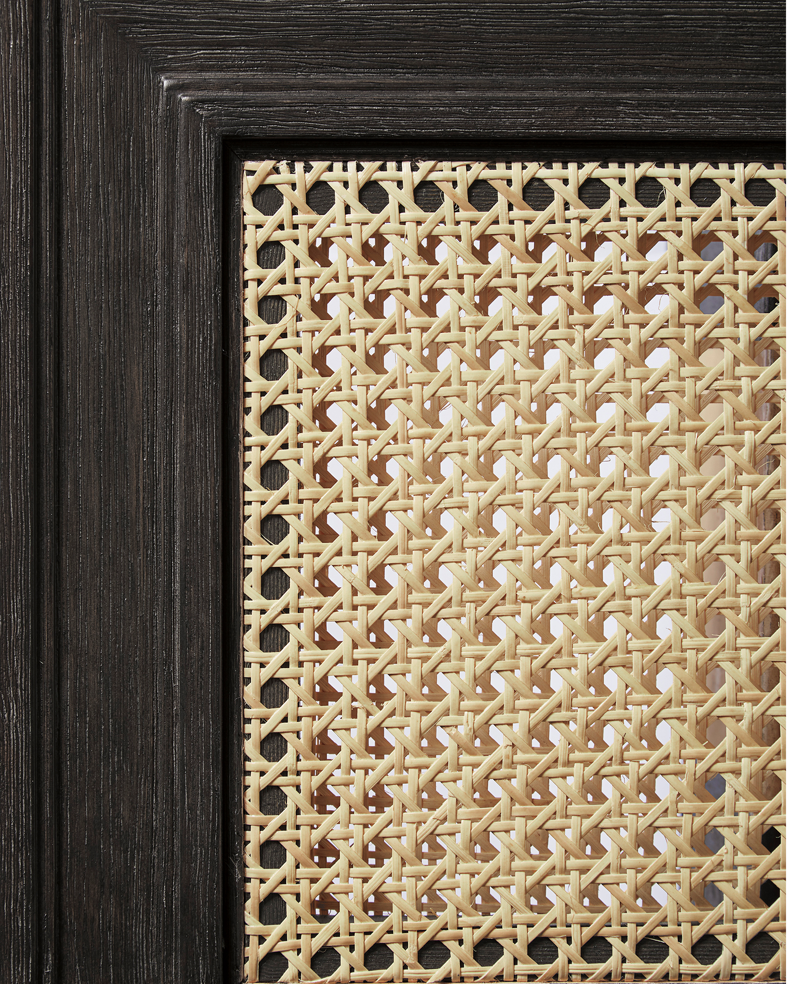 Harbour Cane Furniture Swatch, Ebony
