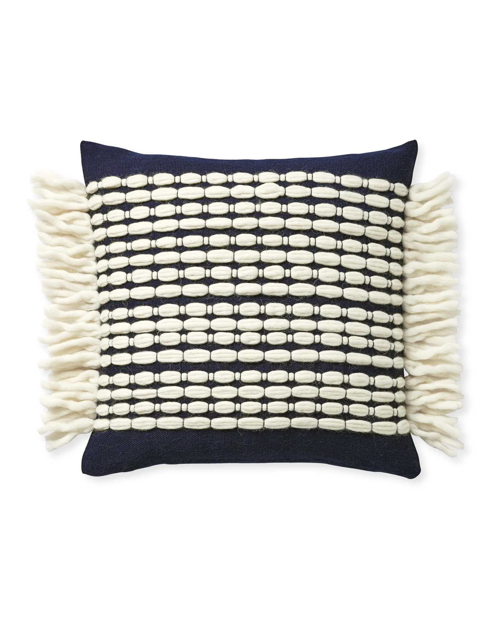 Winter Beach Pillow Cover, Midnight