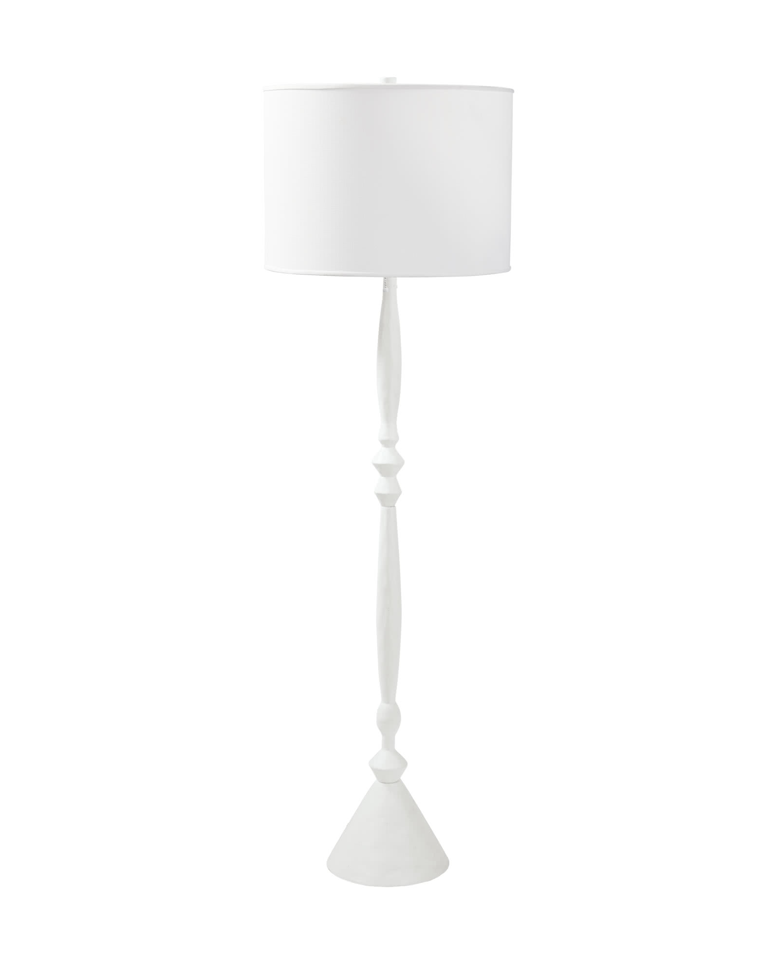 Brighton Floor Lamp, White
