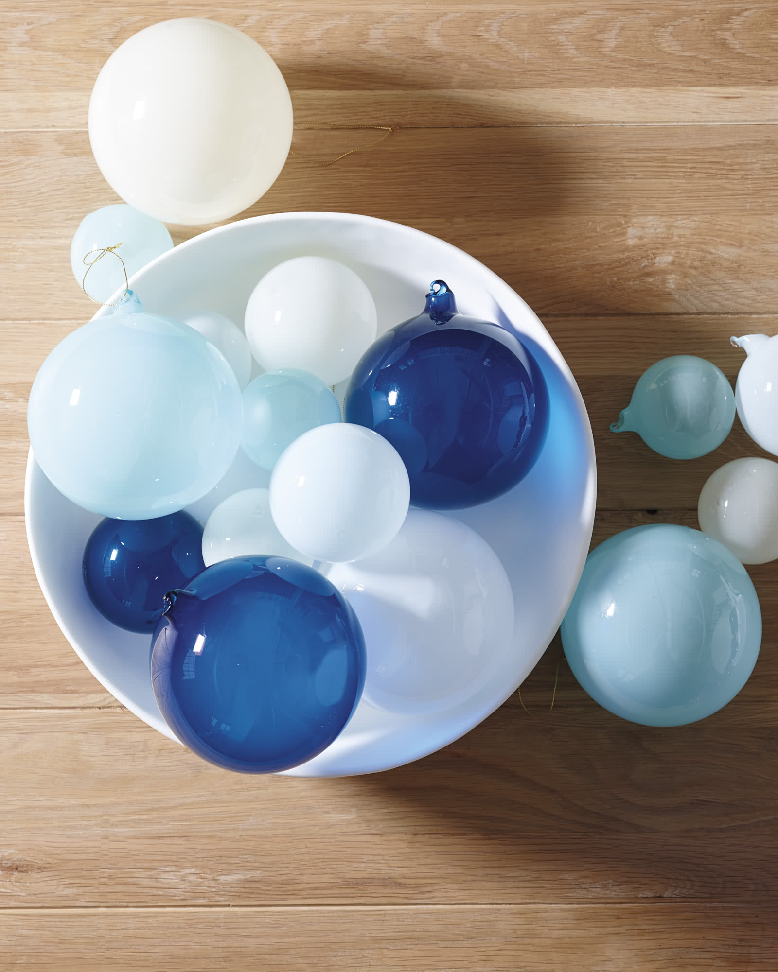 Glass Globes – Small (Set of 6)