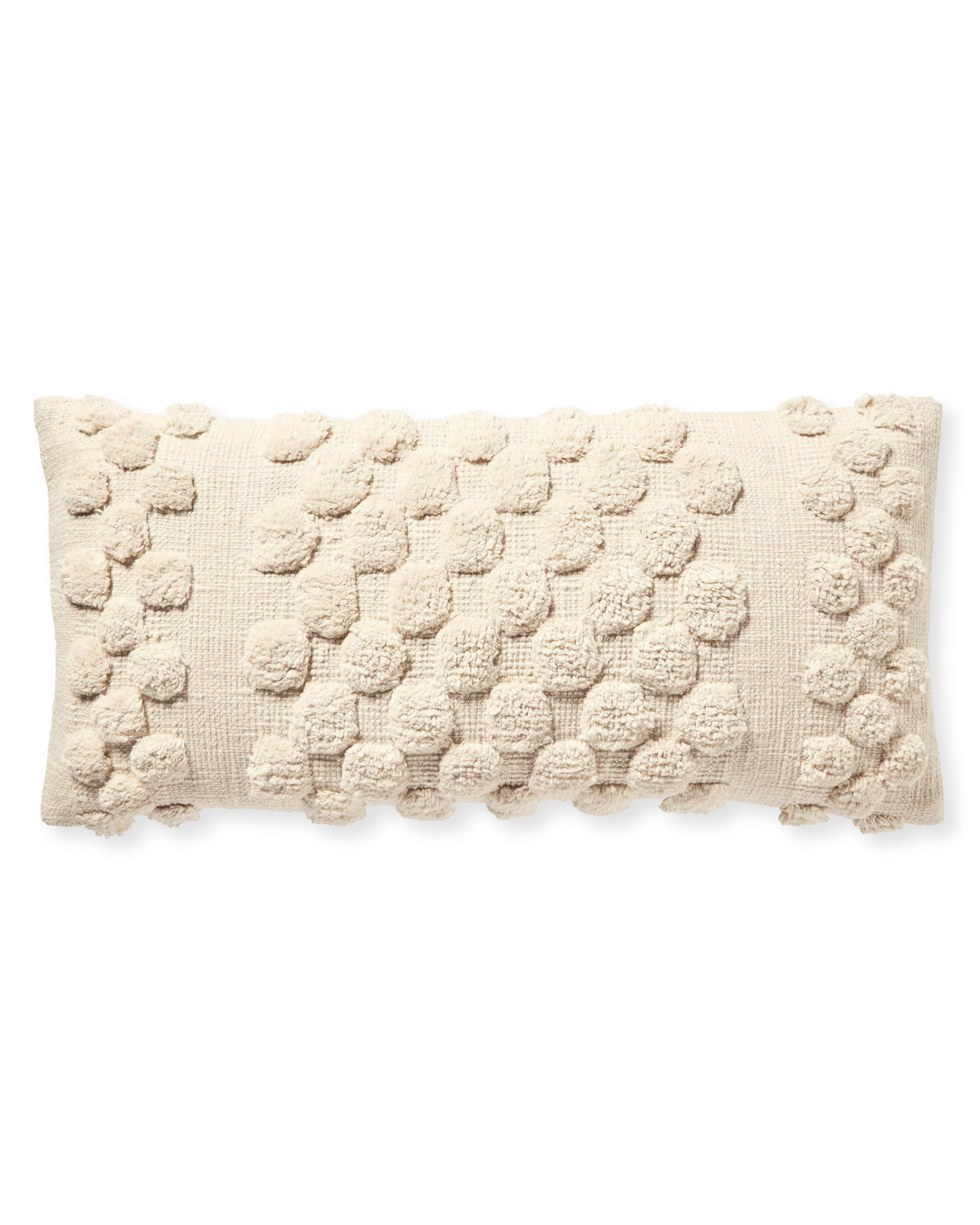 Fairfield Pillow Cover, Ivory