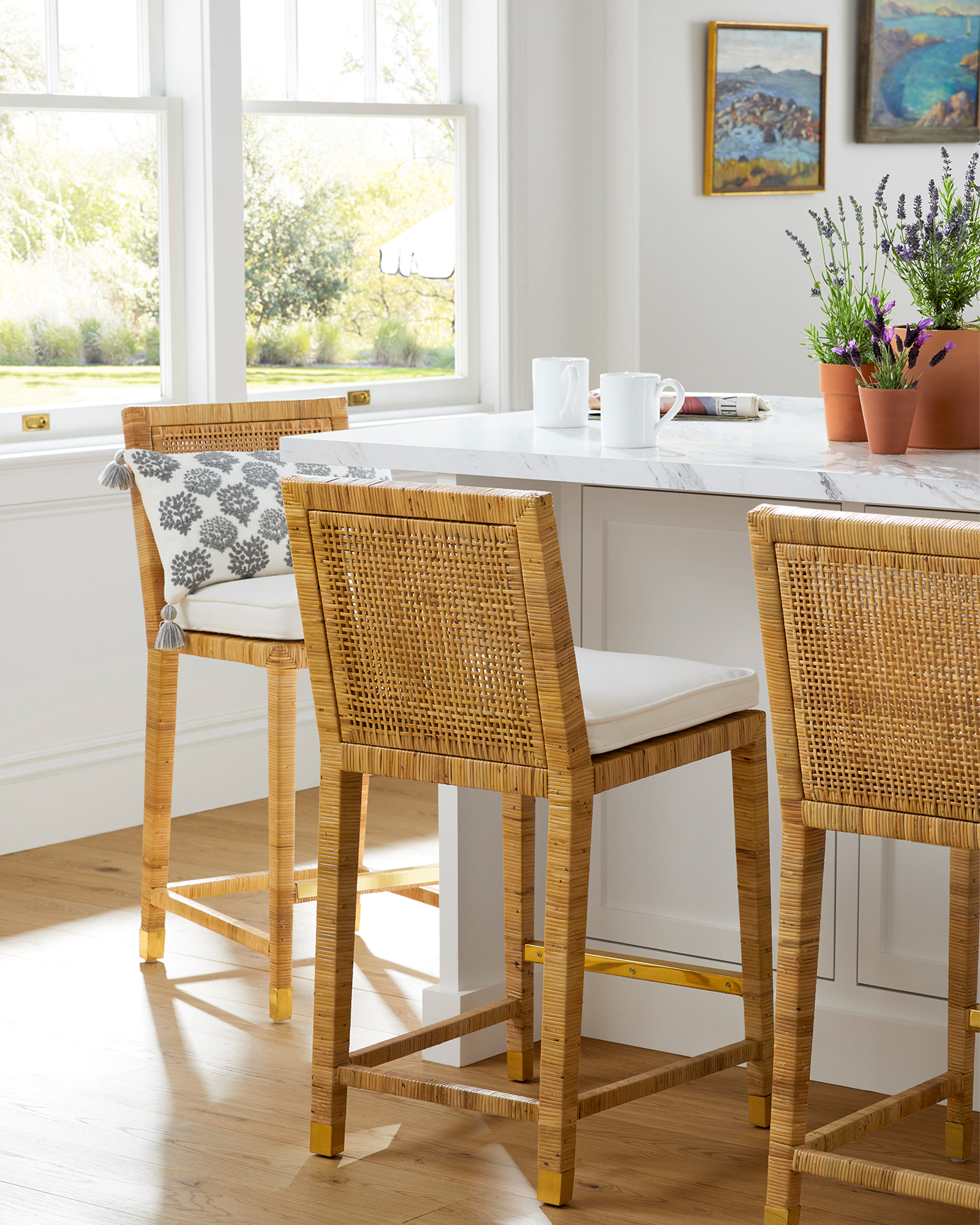 Balboa Counter Stool - Natural,
