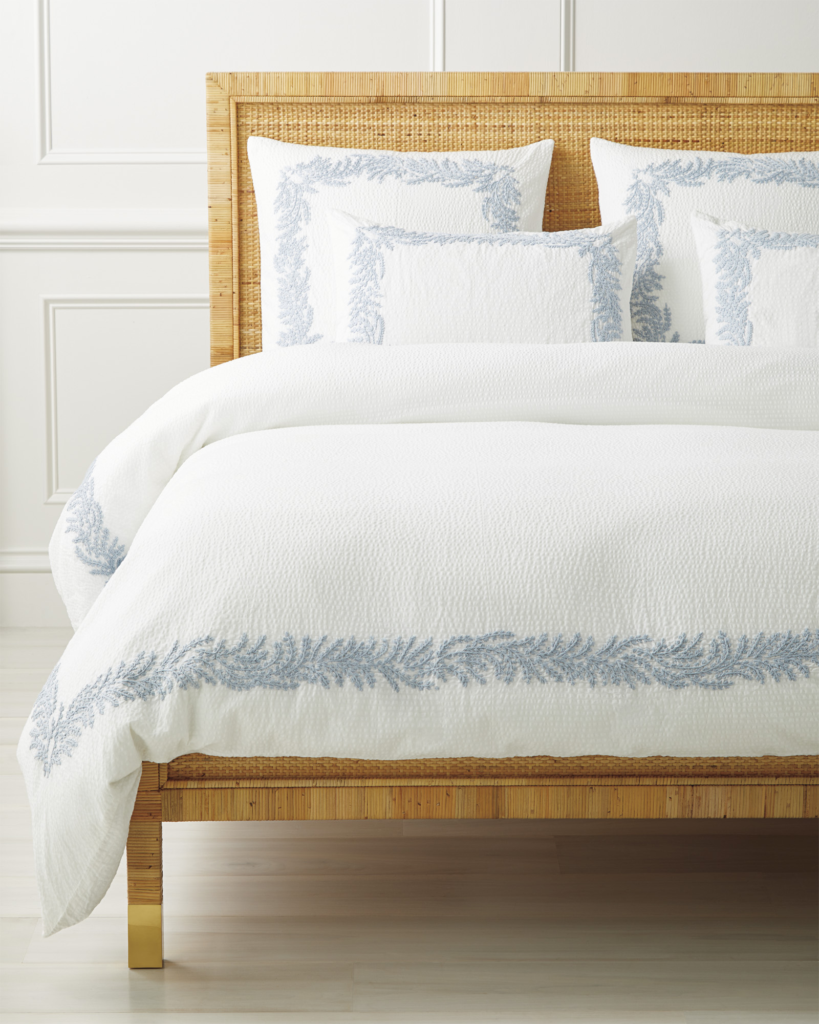 Westport Duvet Cover, Coastal Blue
