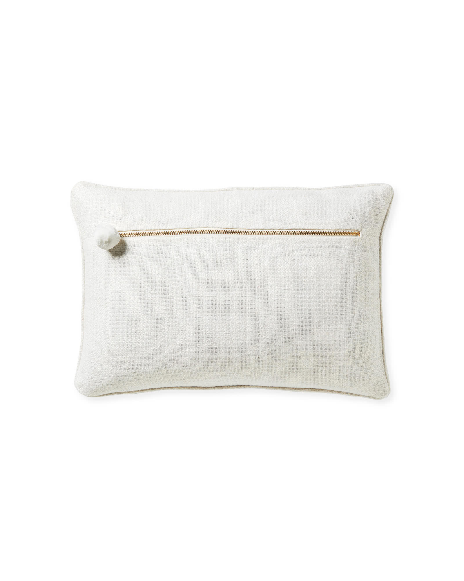 Brookings Pillow Cover, White
