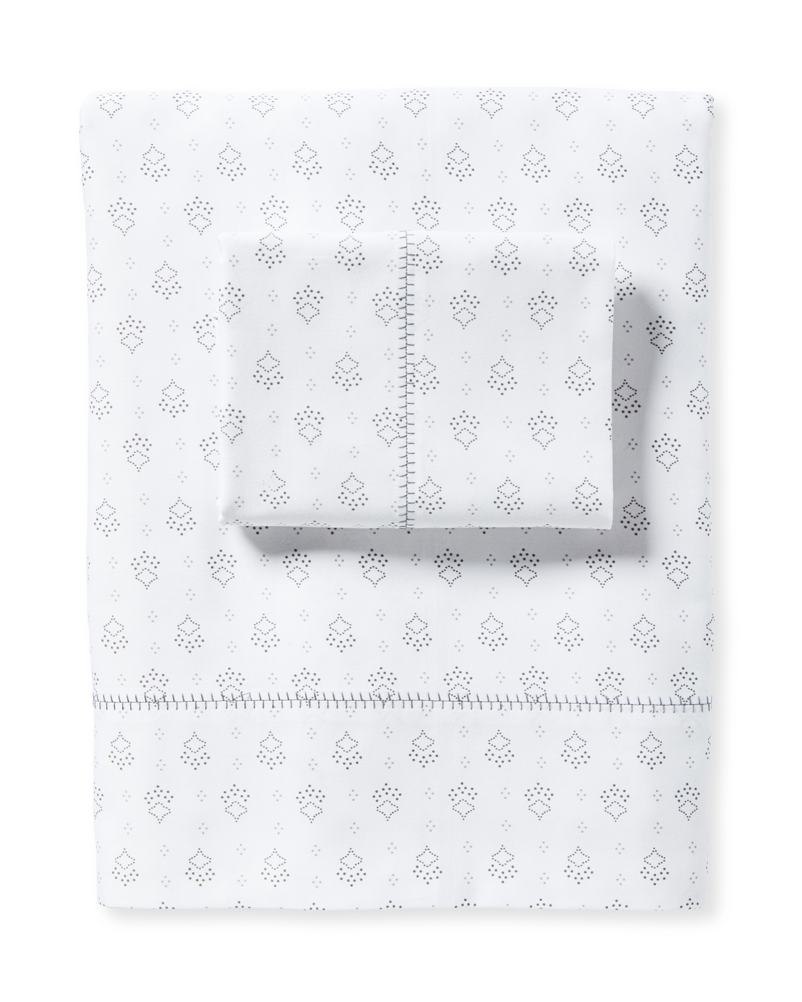 Millwood Sheet Set, Fog