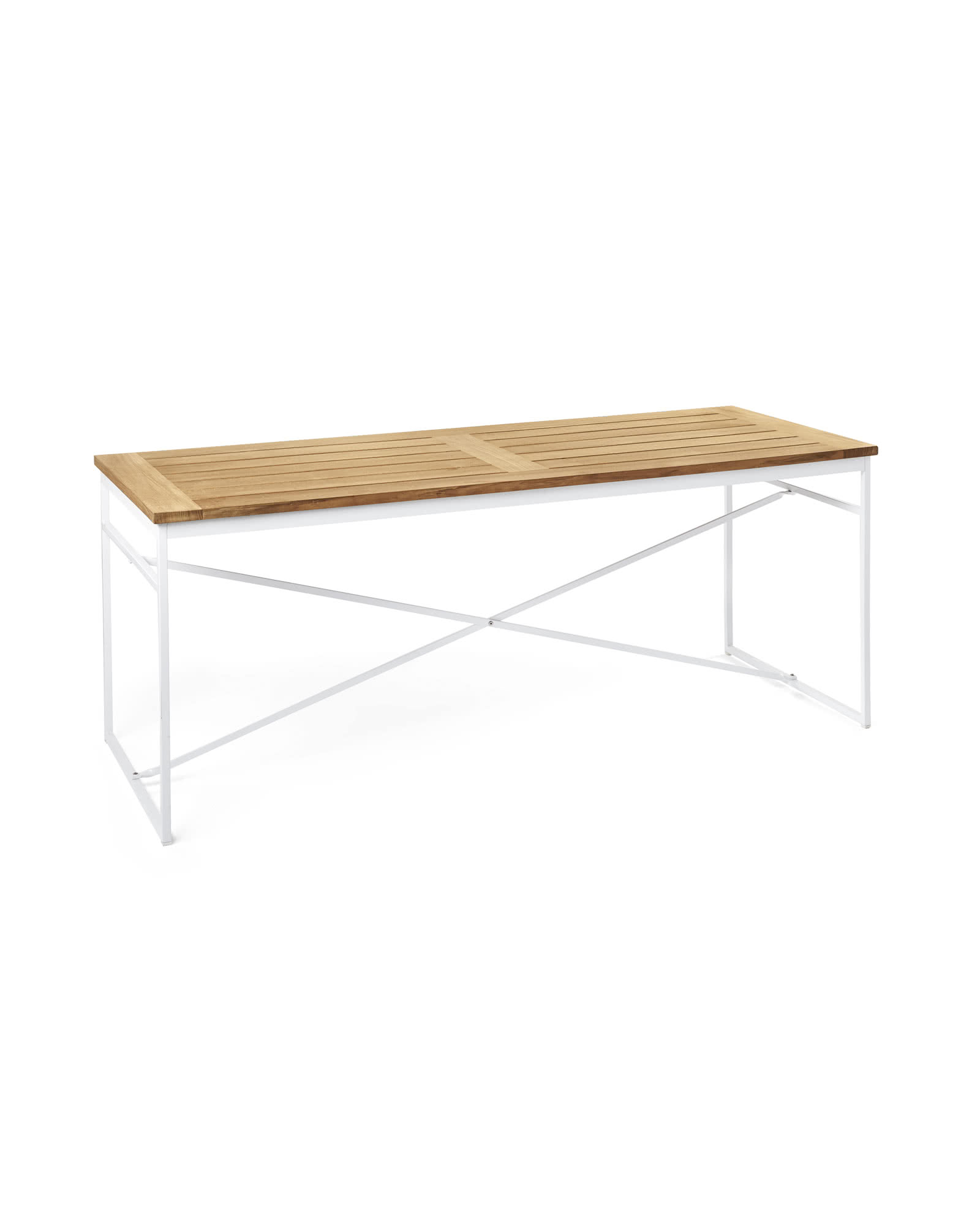 teak outdoor table serena lily