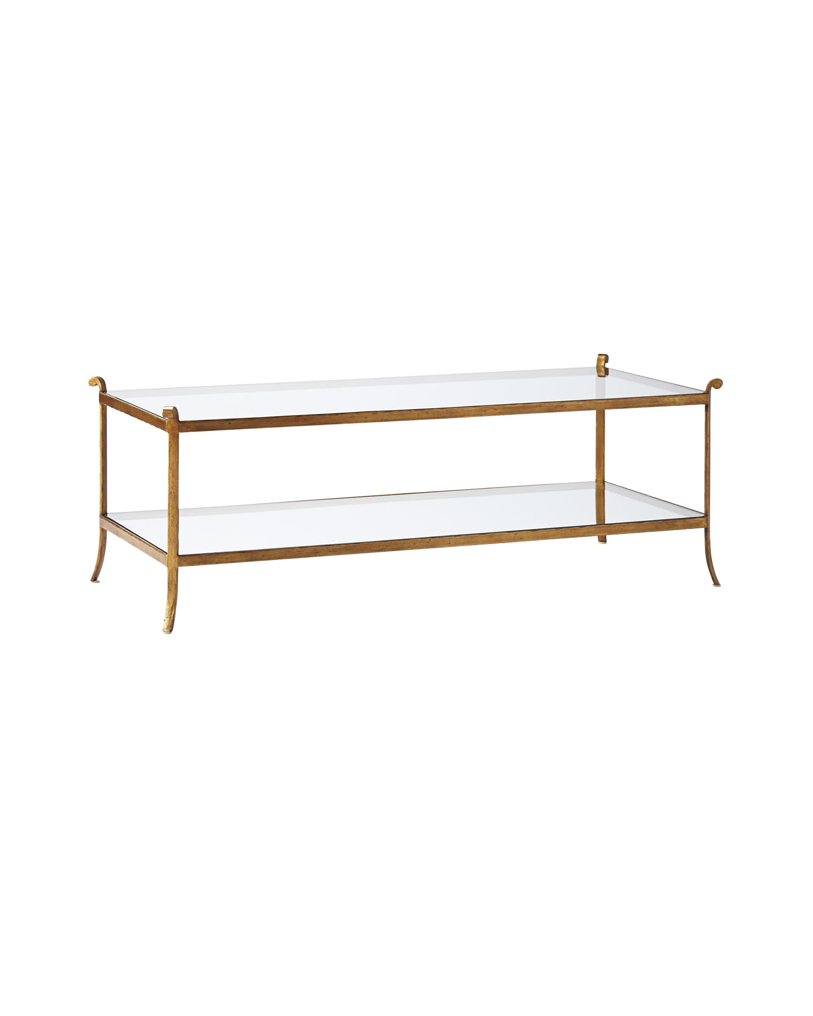 St. Germain Glass Coffee Table,