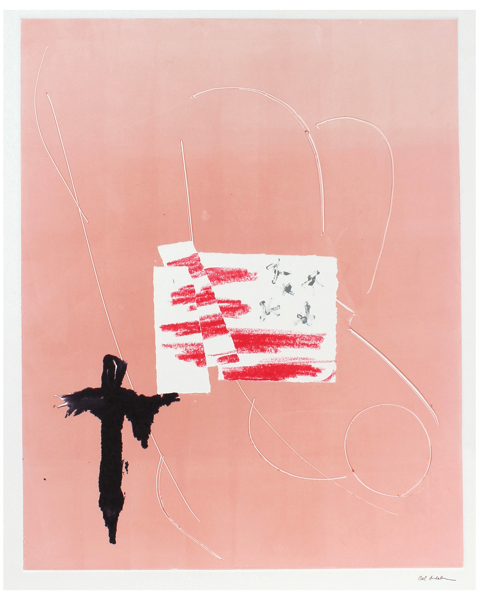 """Modernist Pink Abstract"""" by Calvin Anderson,"""