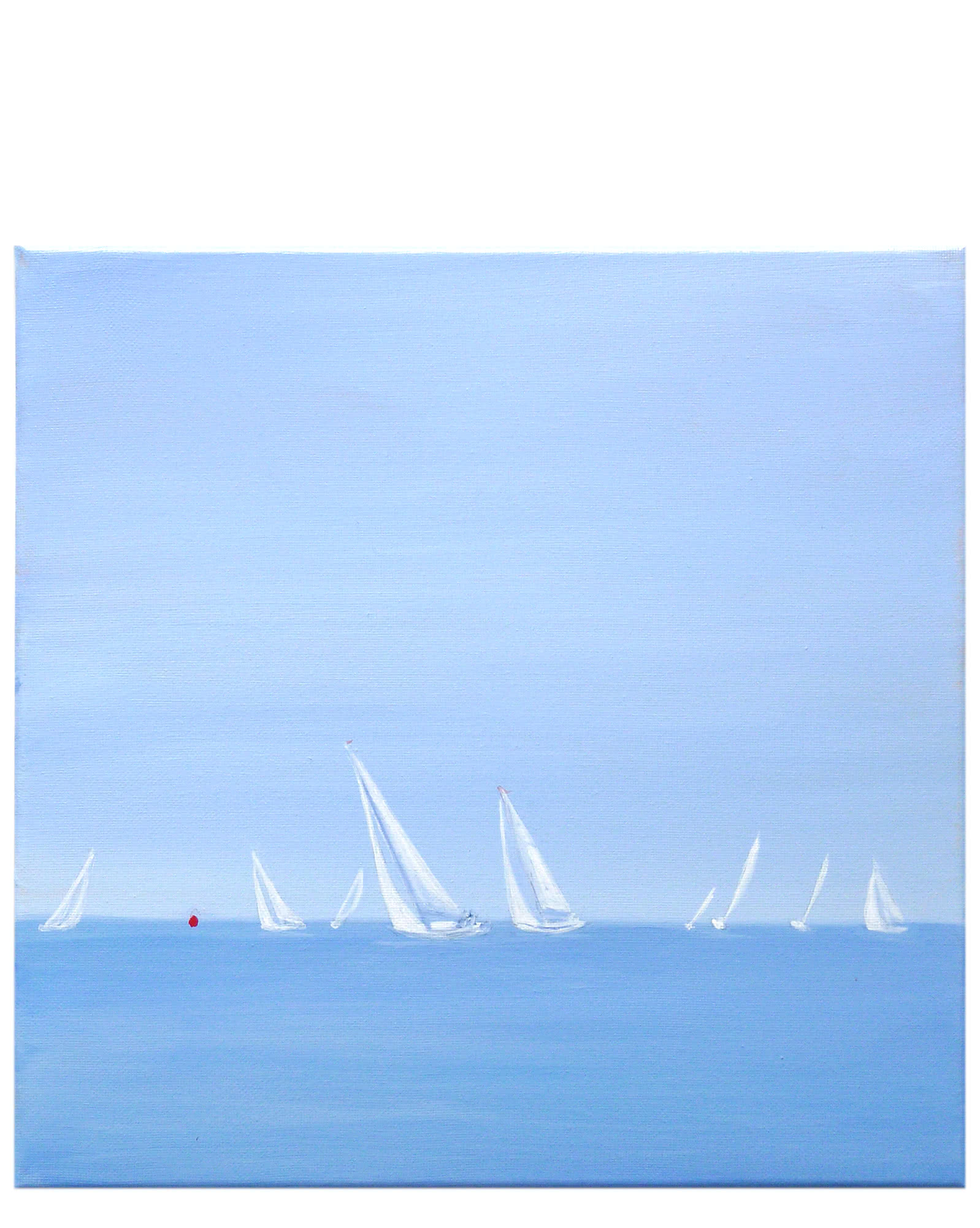 """Regatta # 2"" by Carol Saxe,"