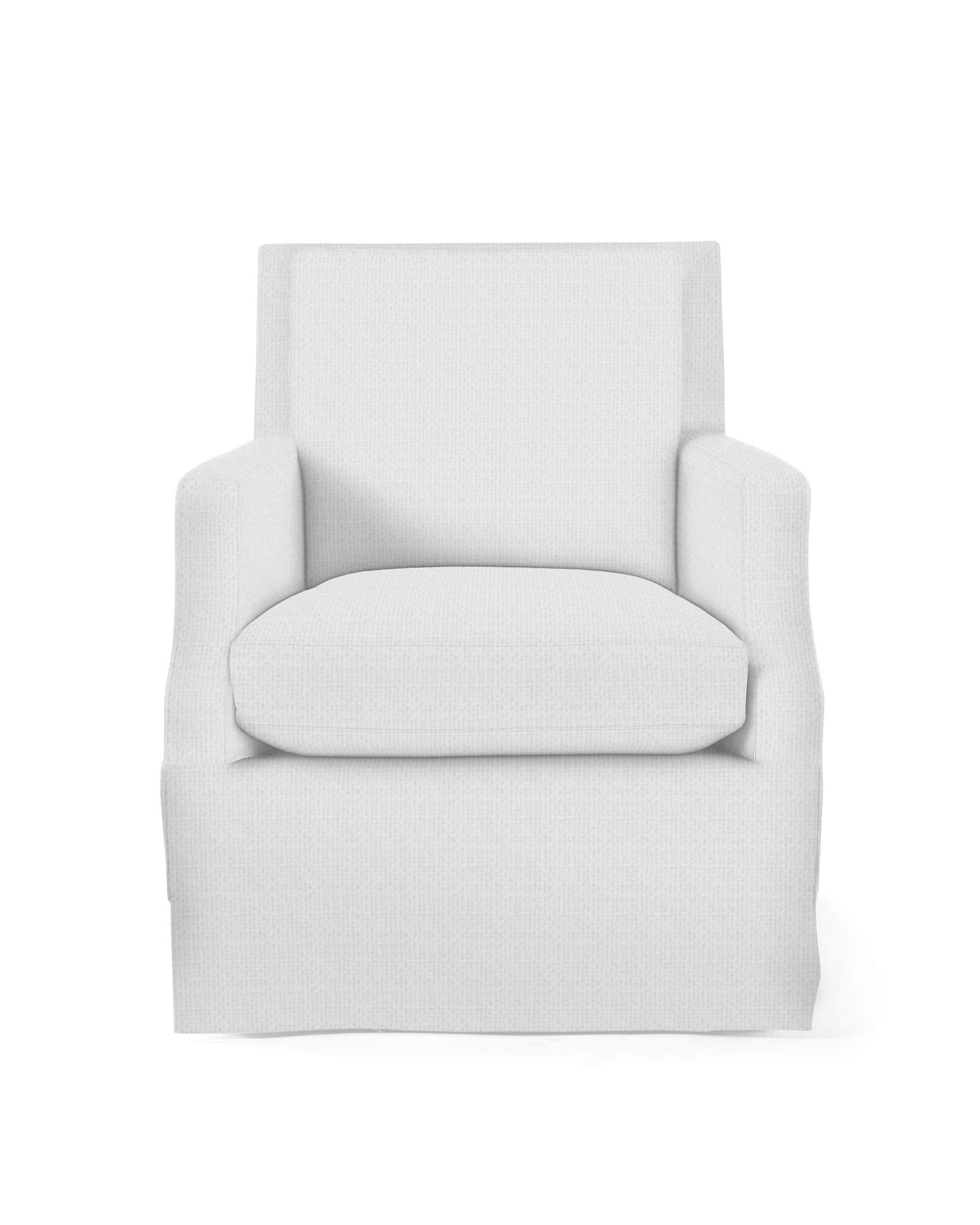 Grady Swivel Chair Skirted Serena Amp Lily