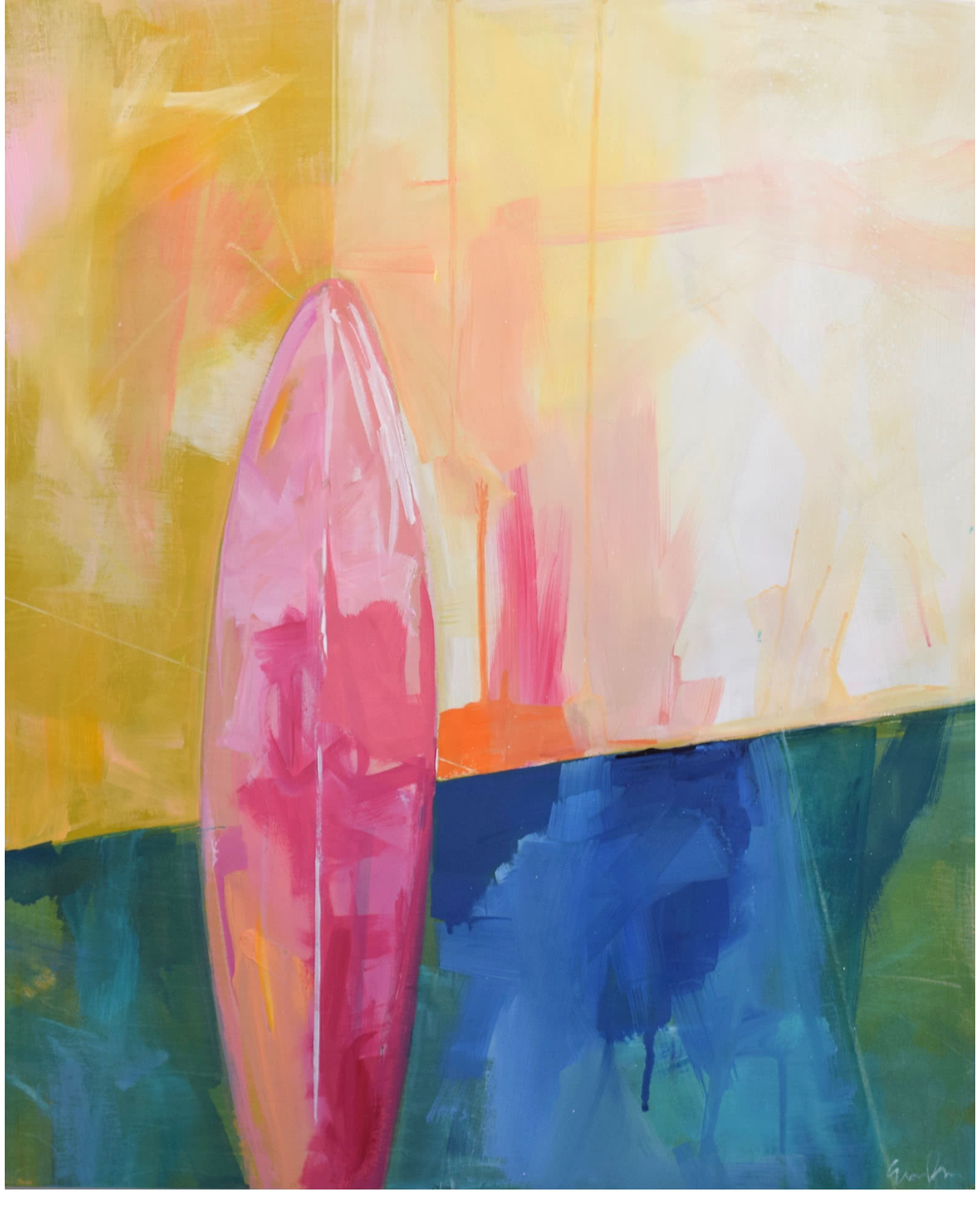 """Sunrise Surf"" by Emily Brown,"