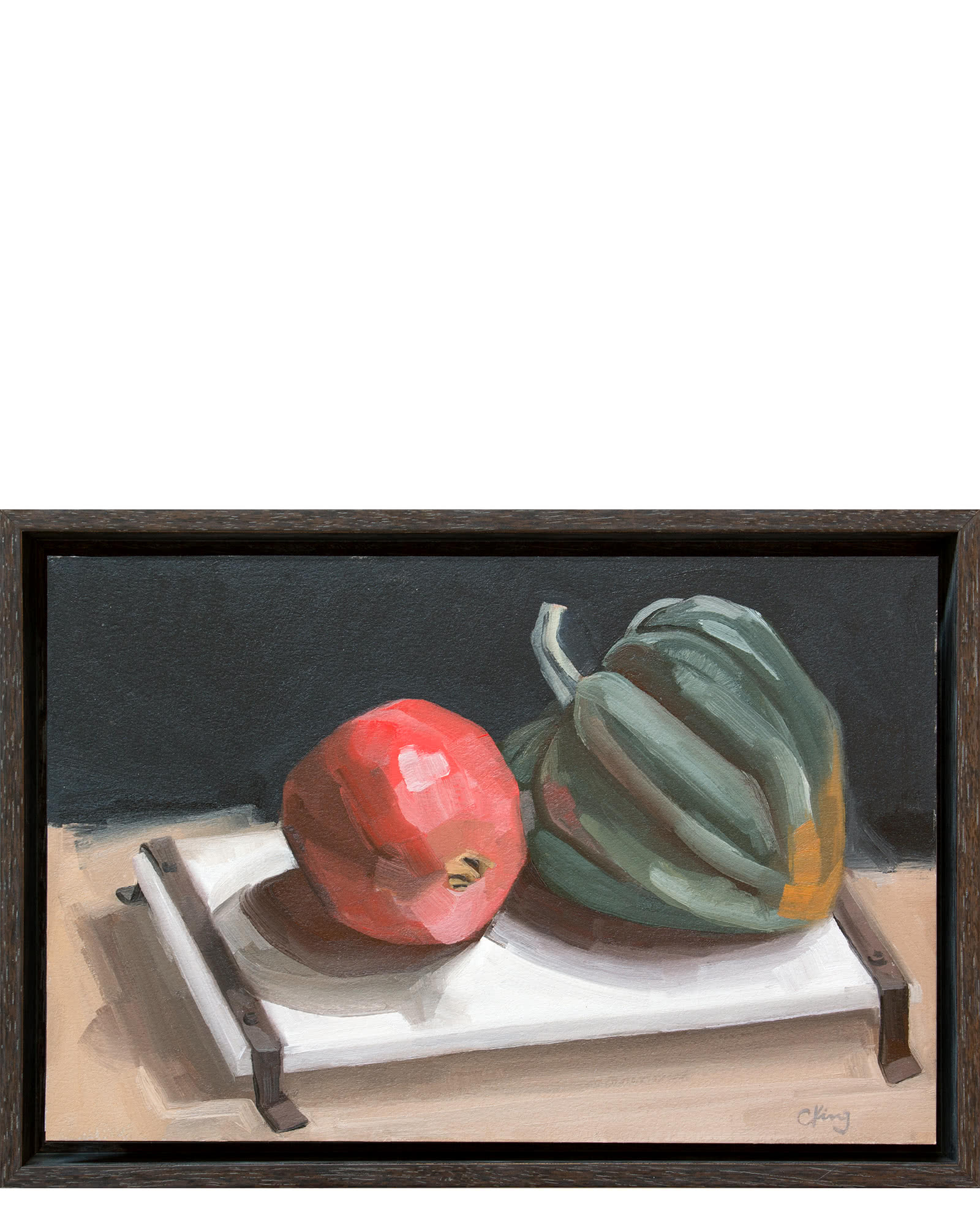 """Pomegranate and Squash"" by Christy King,"