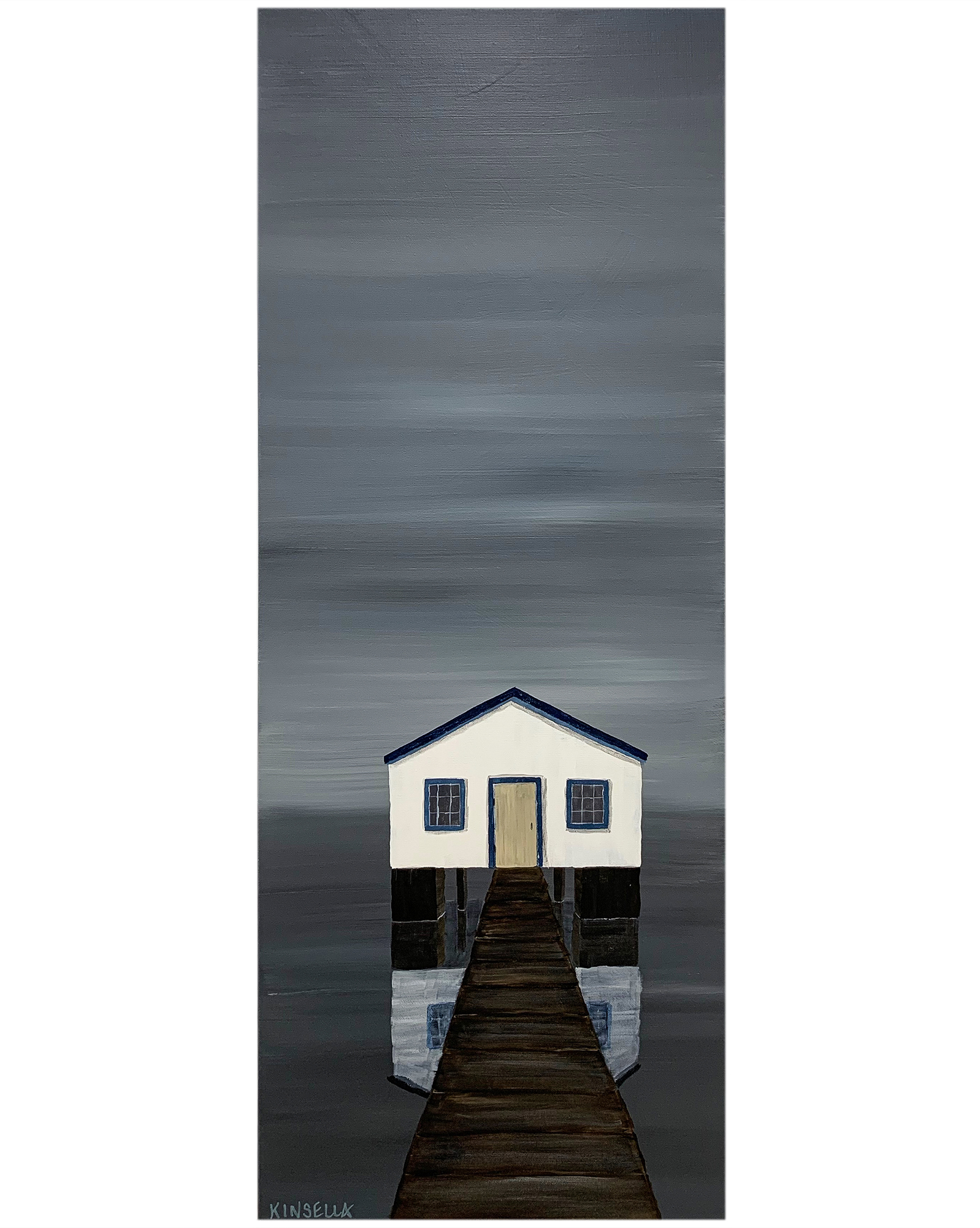 """""""The Boathouse"""" by Susan Kinsella,"""