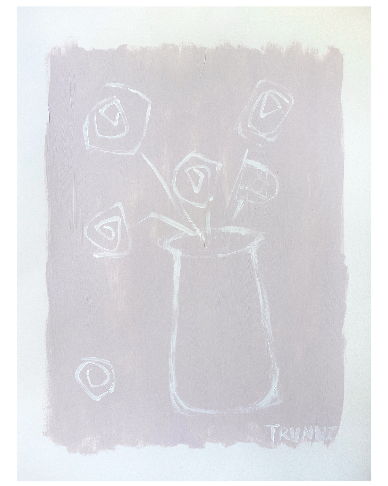 """""""Vase in Blush"""" by Sarah Trundle,"""