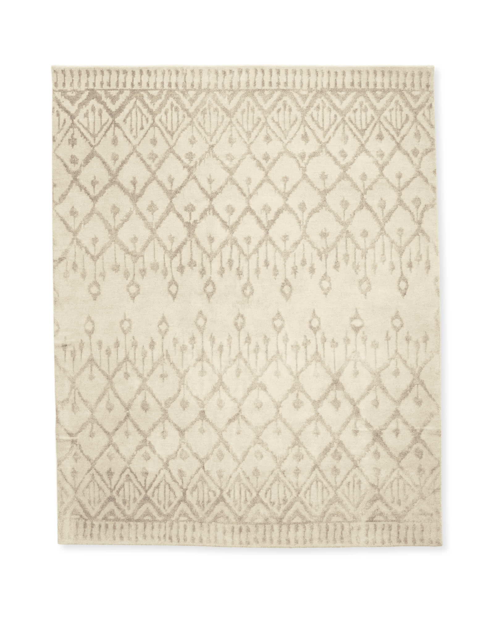 Milan Hand-Knotted Rug, Sand