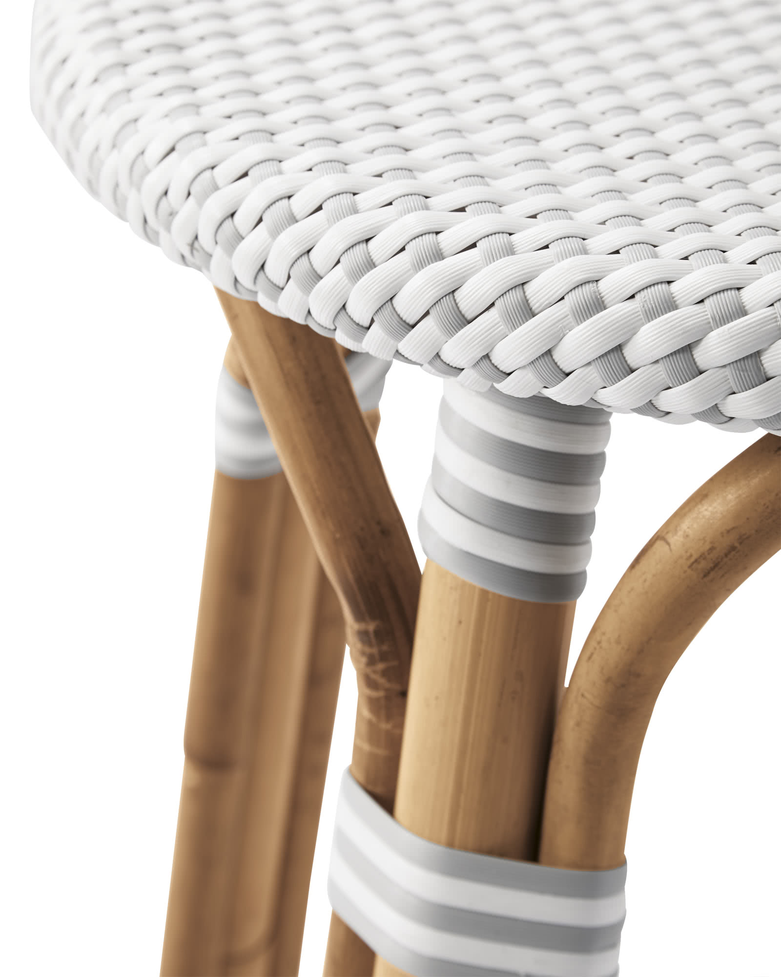 Riviera Backless Counter Stool, Fog