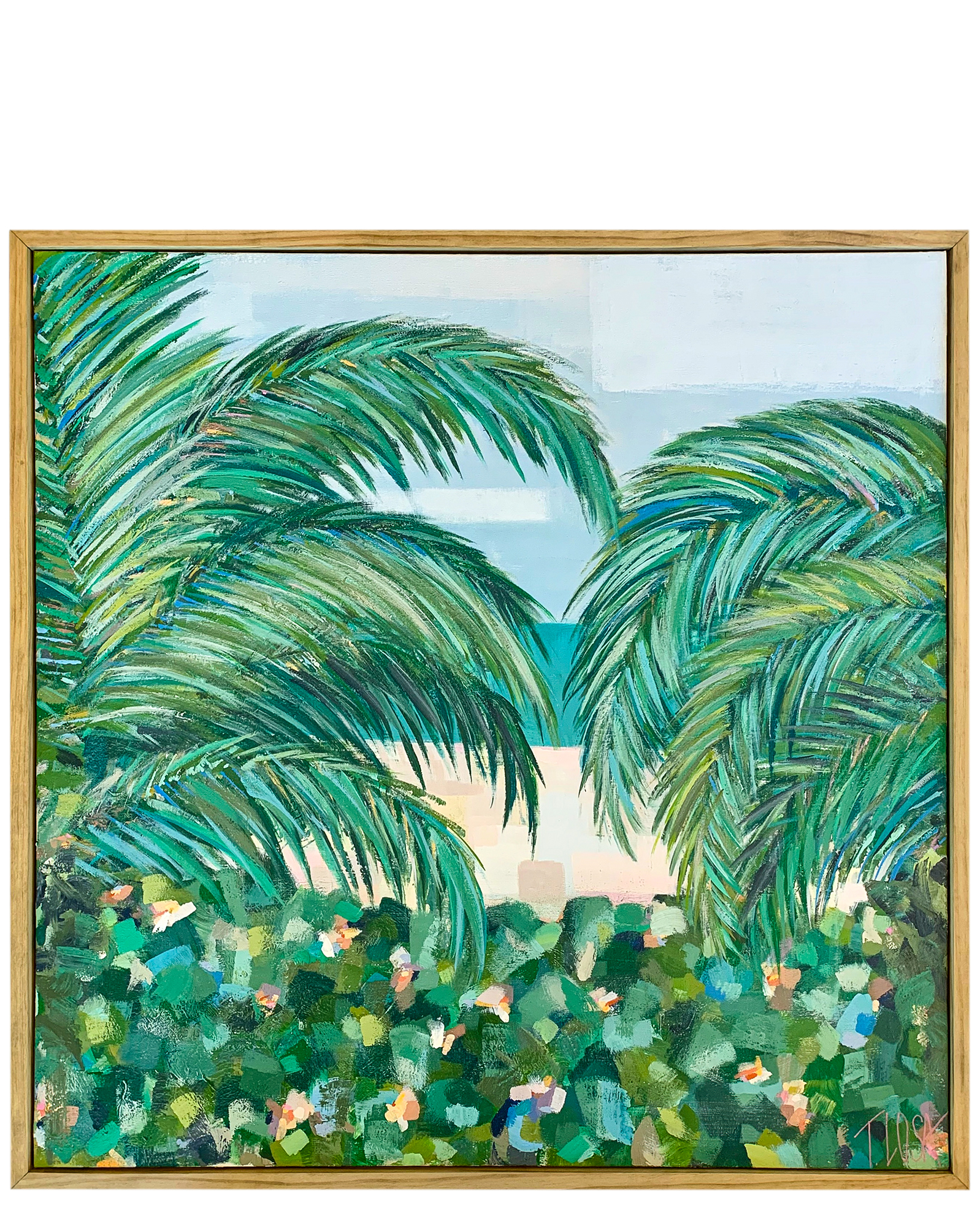 """""""Tropical Breeze"""" by Theresa Losa,"""