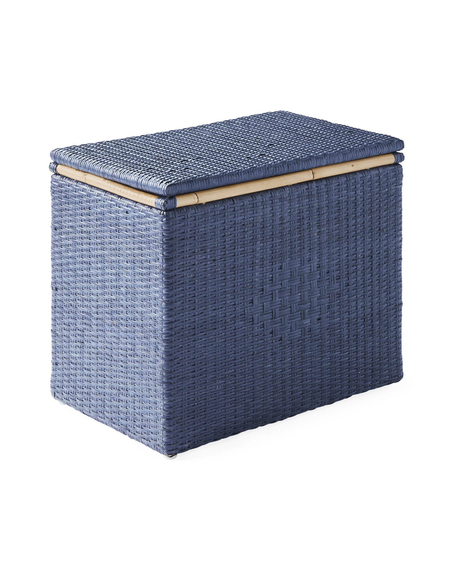 Sunwashed Riviera Lidded Storage Bin, Pacific