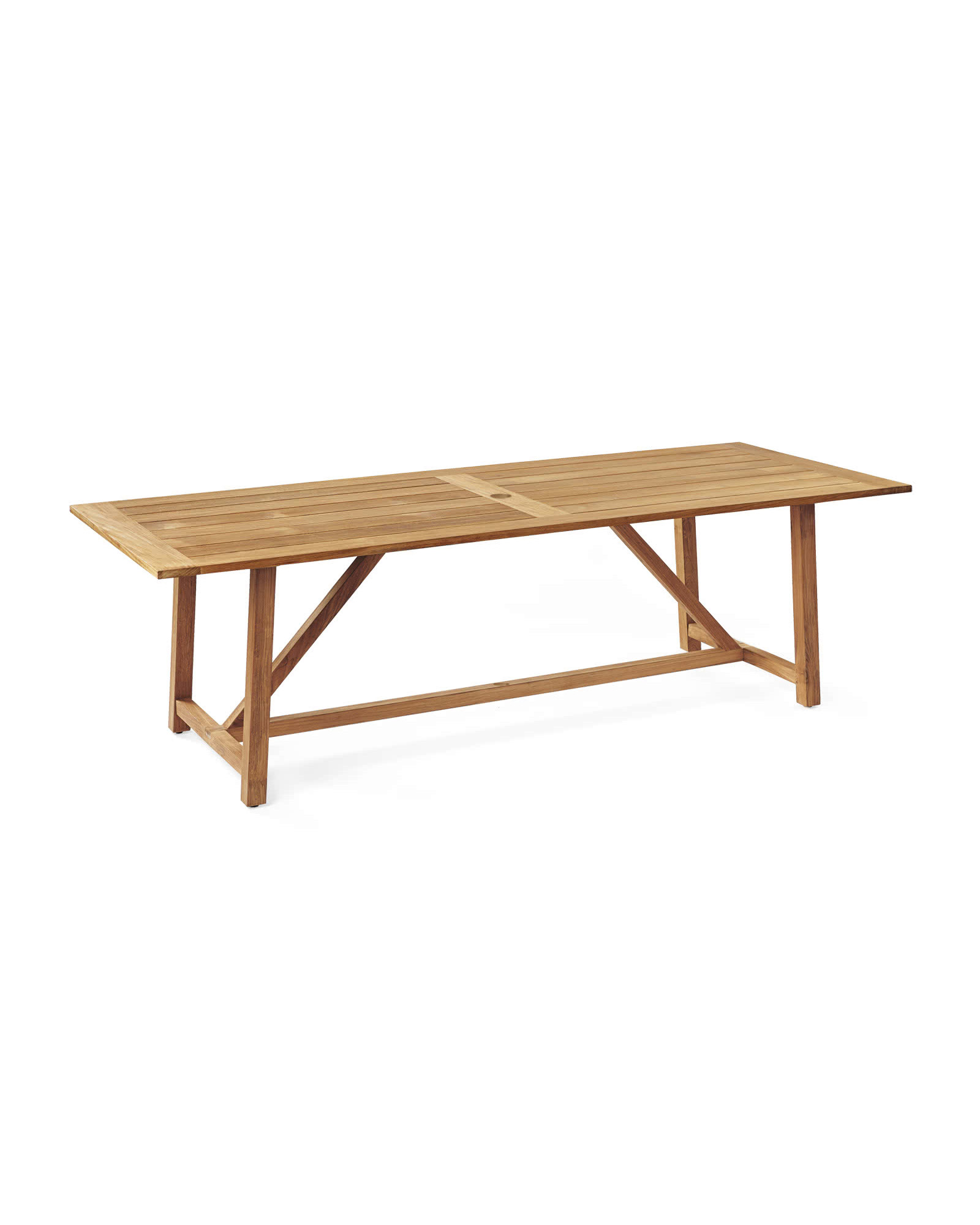 Crosby Teak Dining Table Tables Serena And Lily