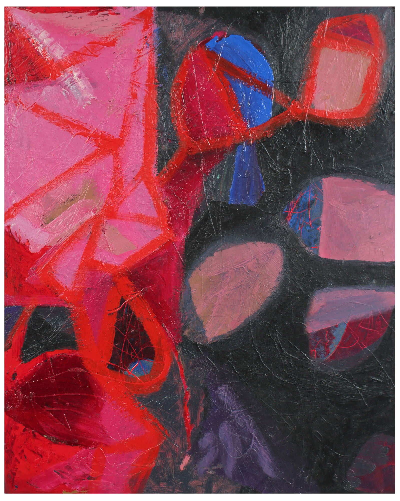 """Vivid Abstracted Forms"" by Calvin Anderson,"