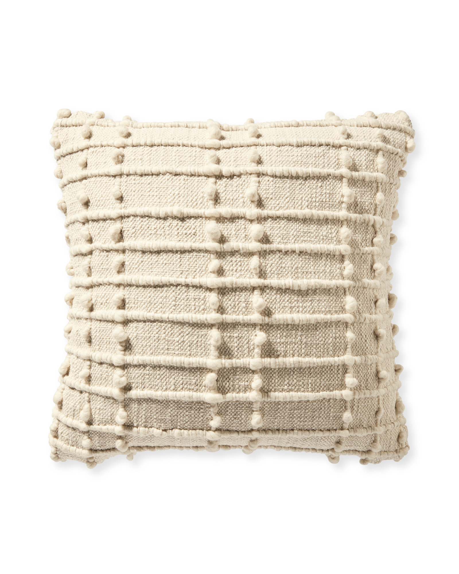 Cobble Hill Pillow Cover, Ivory