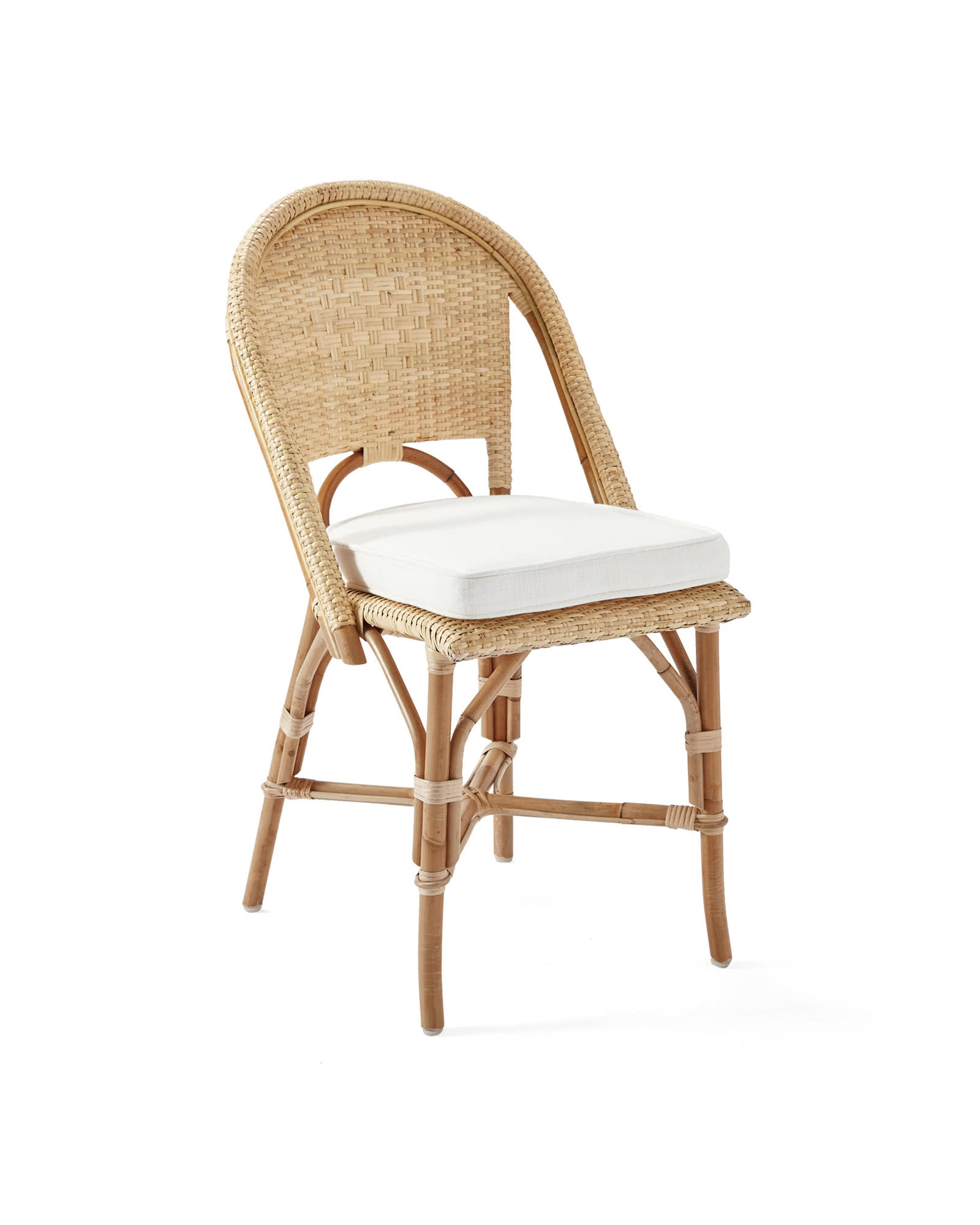 Sunwashed Riviera Side Chair, Natural
