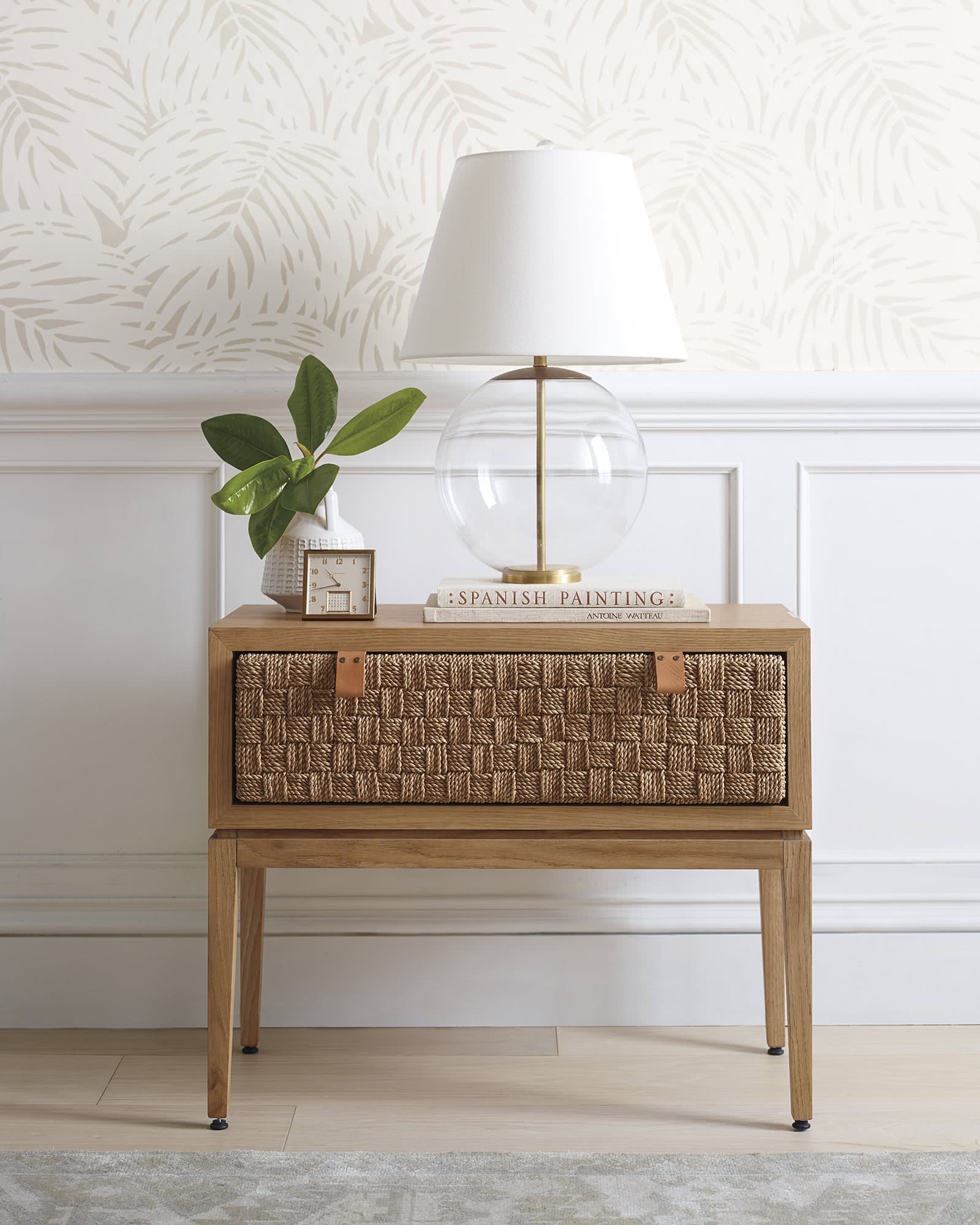 Caledonia Woven Nightstand Serena Amp Lily