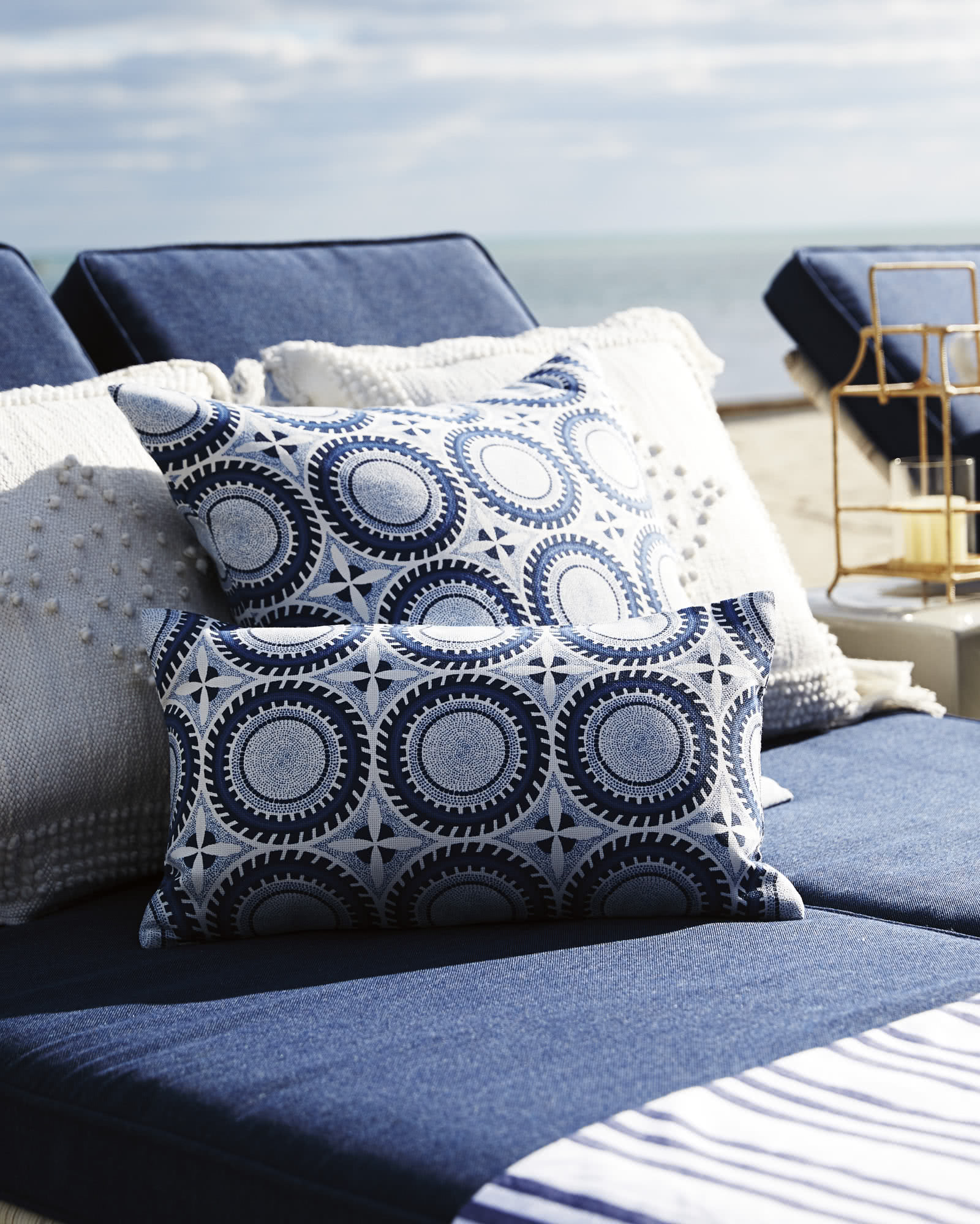 Seadrift Outdoor Pillow Cover Serena Amp Lily