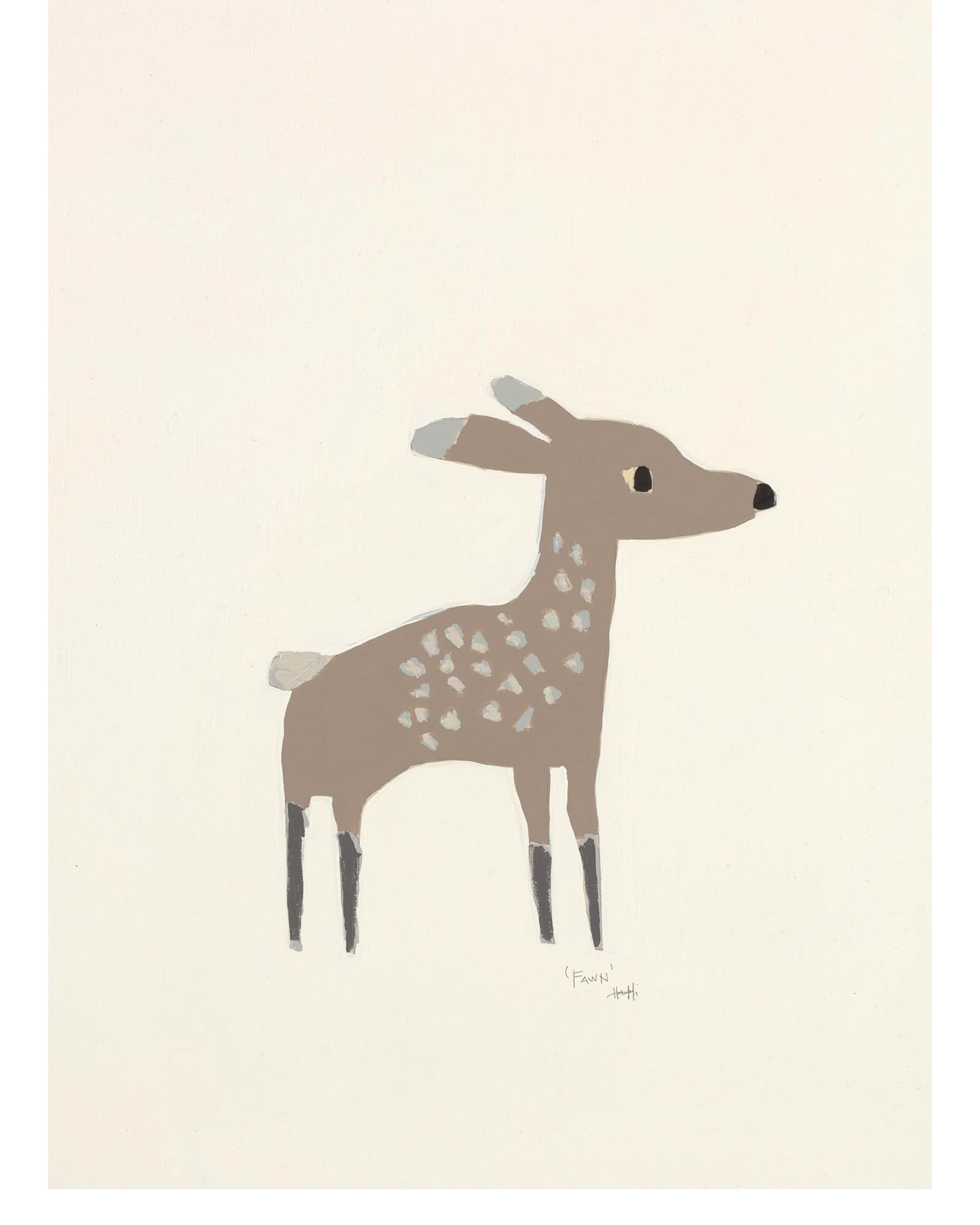 """Woodland Fawn"" by Holly Addi,"
