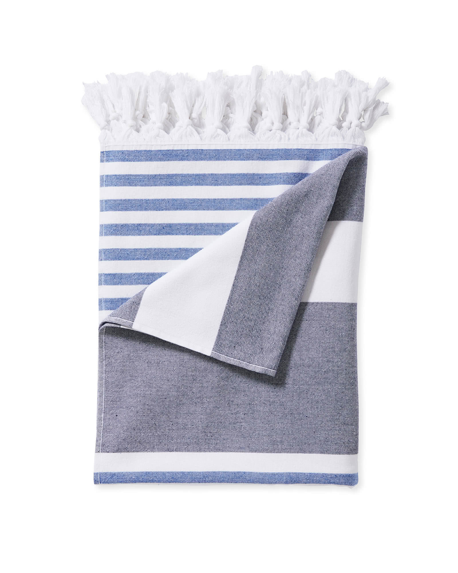 Capri Fouta Beach Towel, Midnight