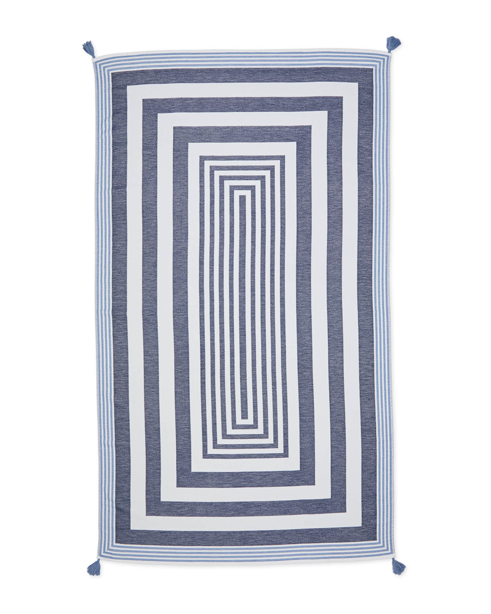 Umbria Beach Towel, Midnight