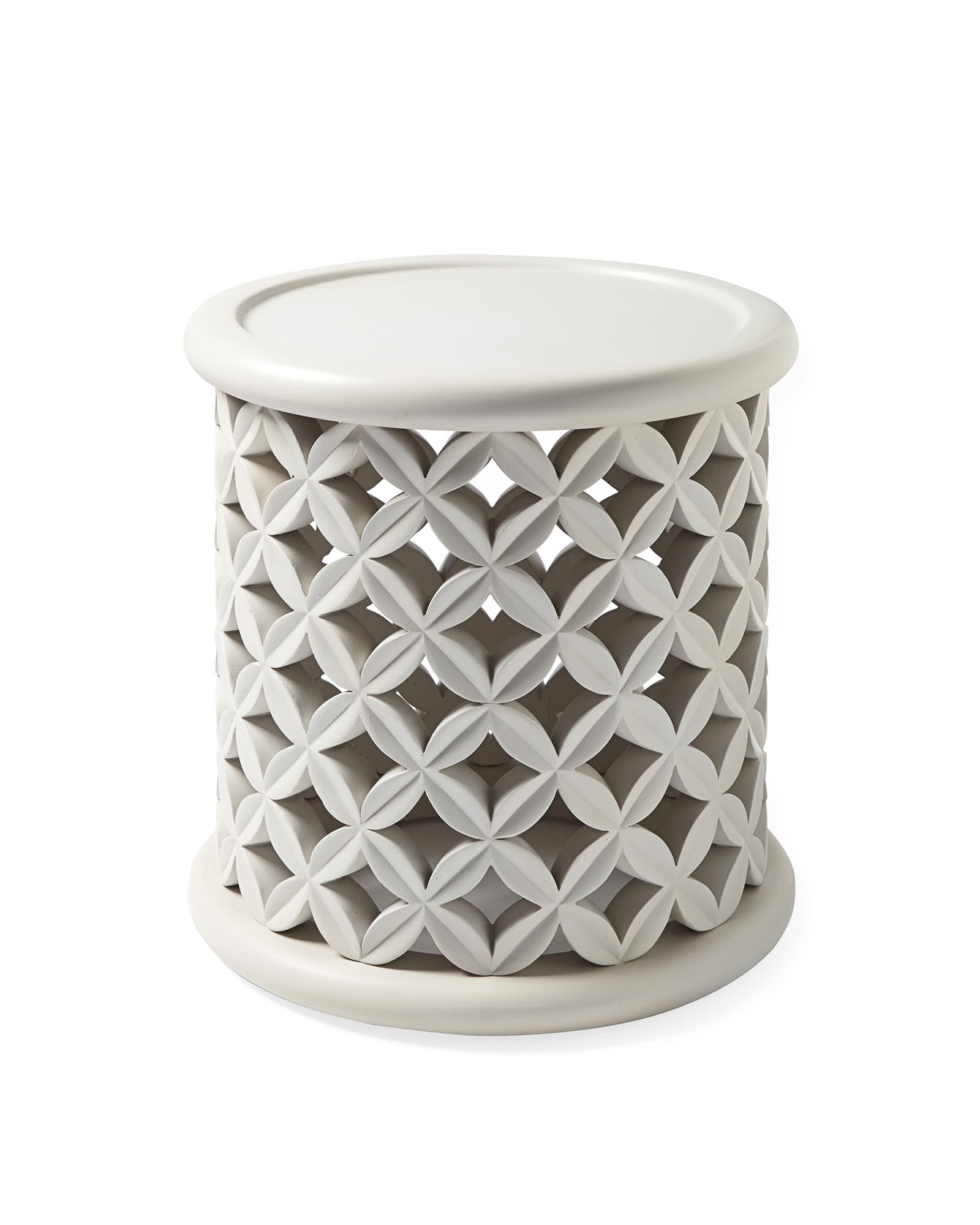 Bamileke Outdoor Side Table - Fog