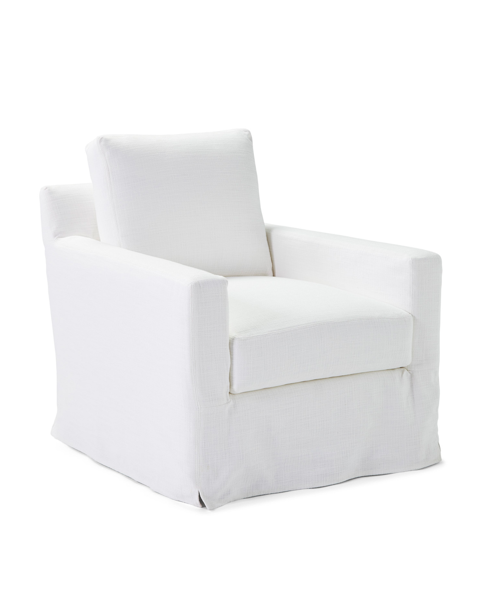 Summit Swivel Chair - Slipcovered,