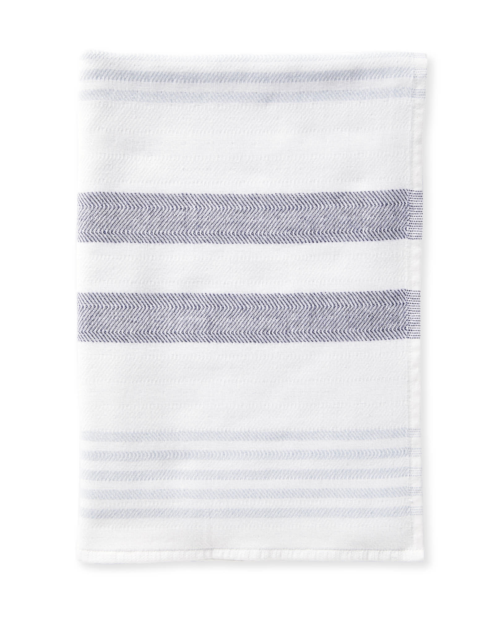 Fouta Bath Collection, Navy/Coastal Blue