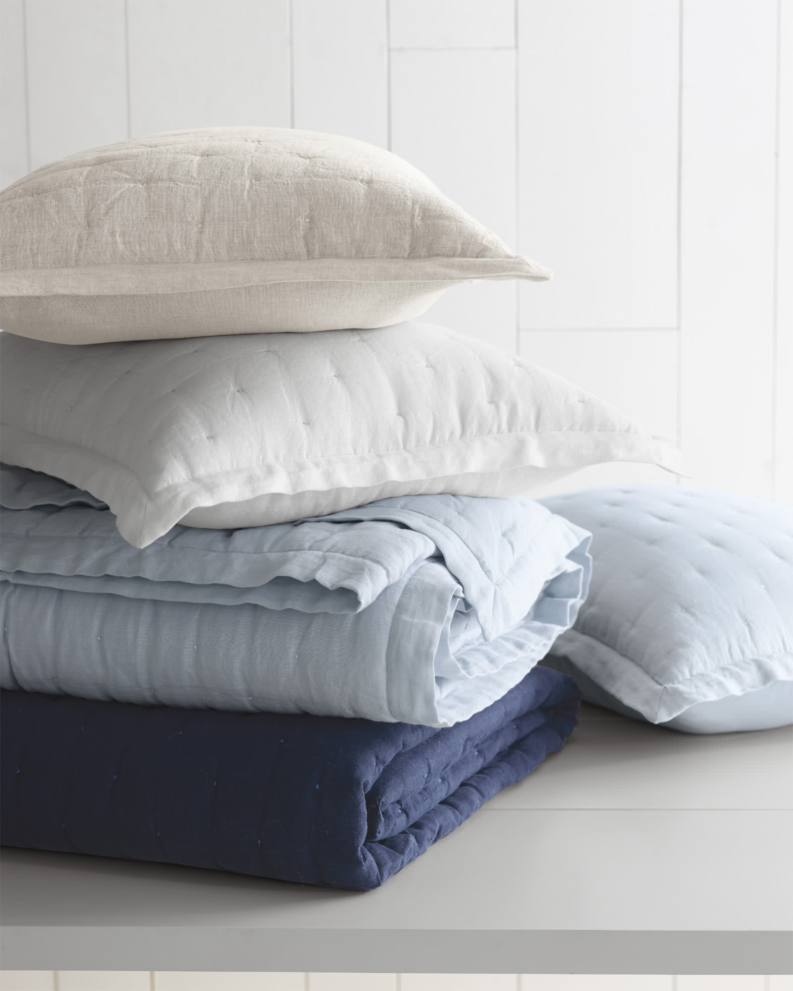 Sutter Quilted Shams,