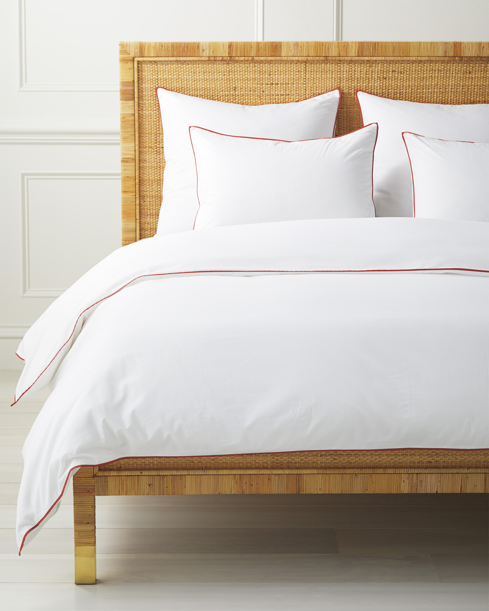 Beach Club Duvet Cover, Papaya