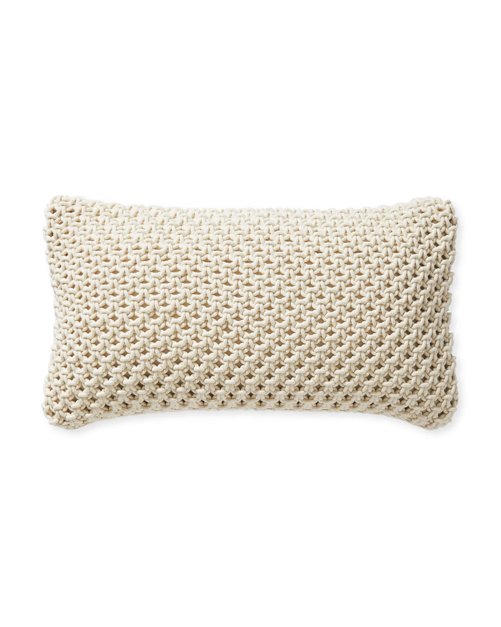 Gabriola Pillow Cover, White