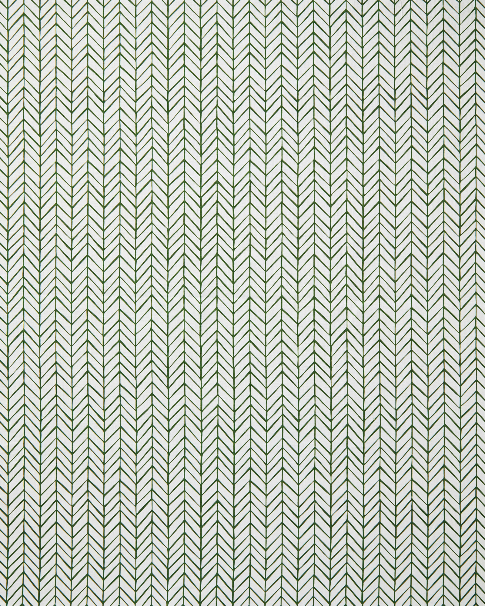 Fabric by the Yard - Herringbone Linen, Moss