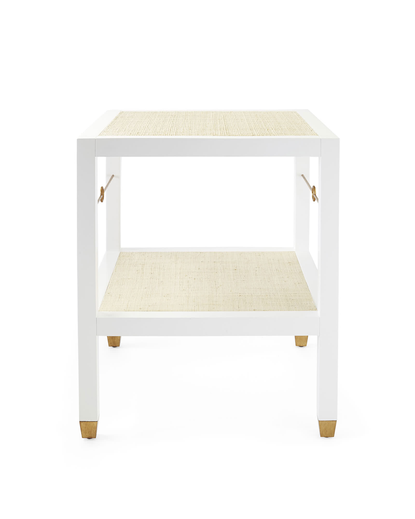 Cabot Side Table, White