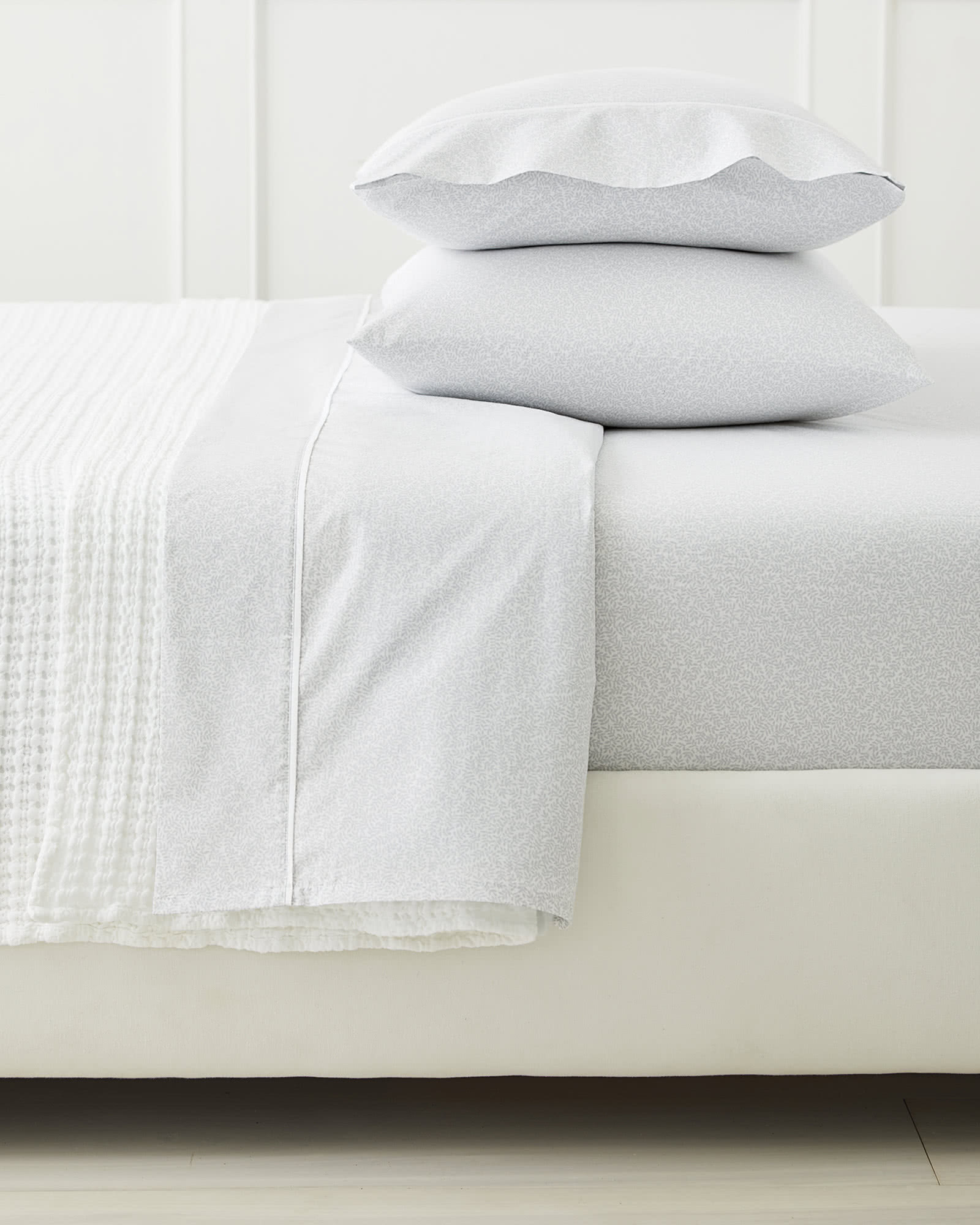 Linden Sheet Set, Fog