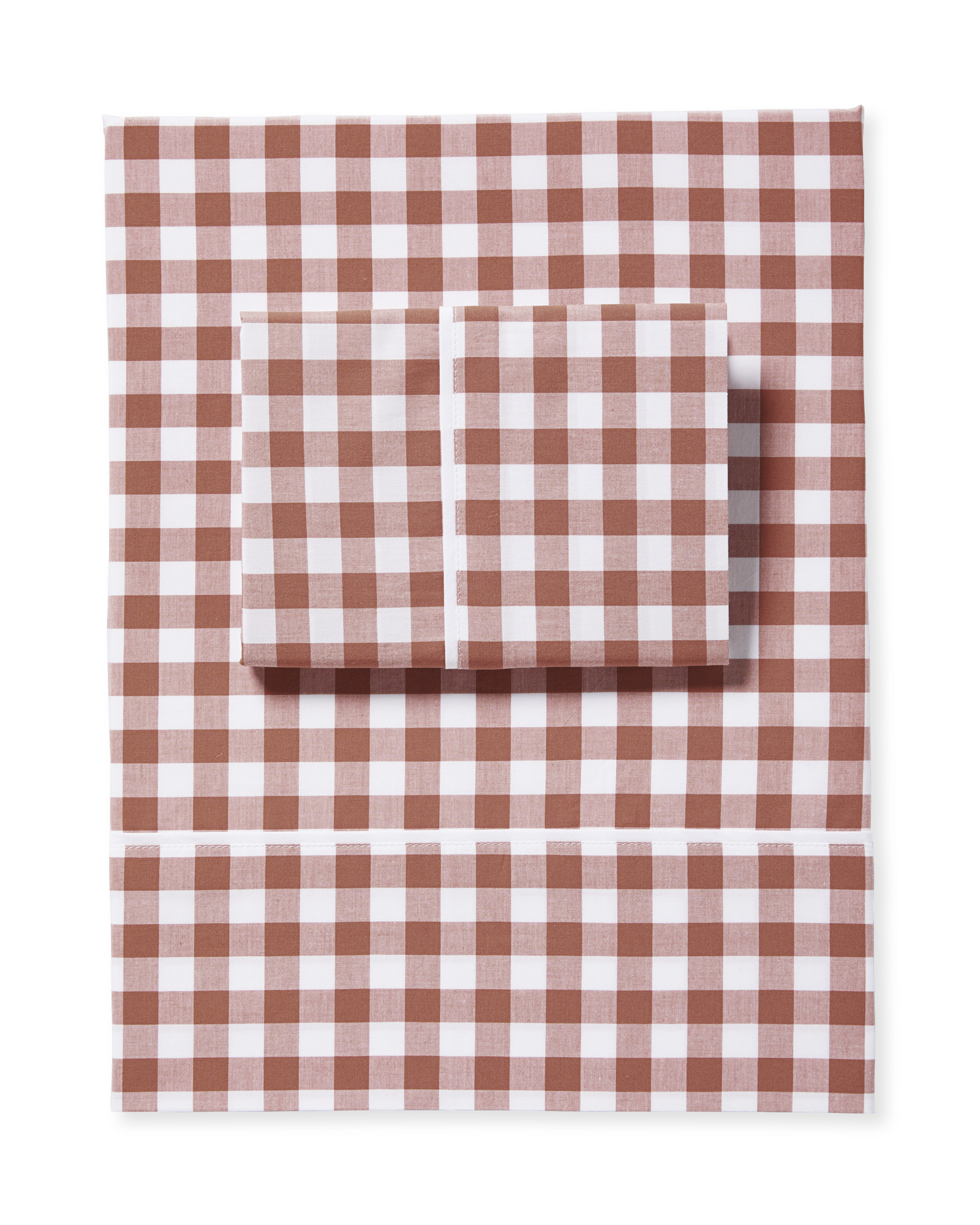 Gingham Sheet Set, Dusk
