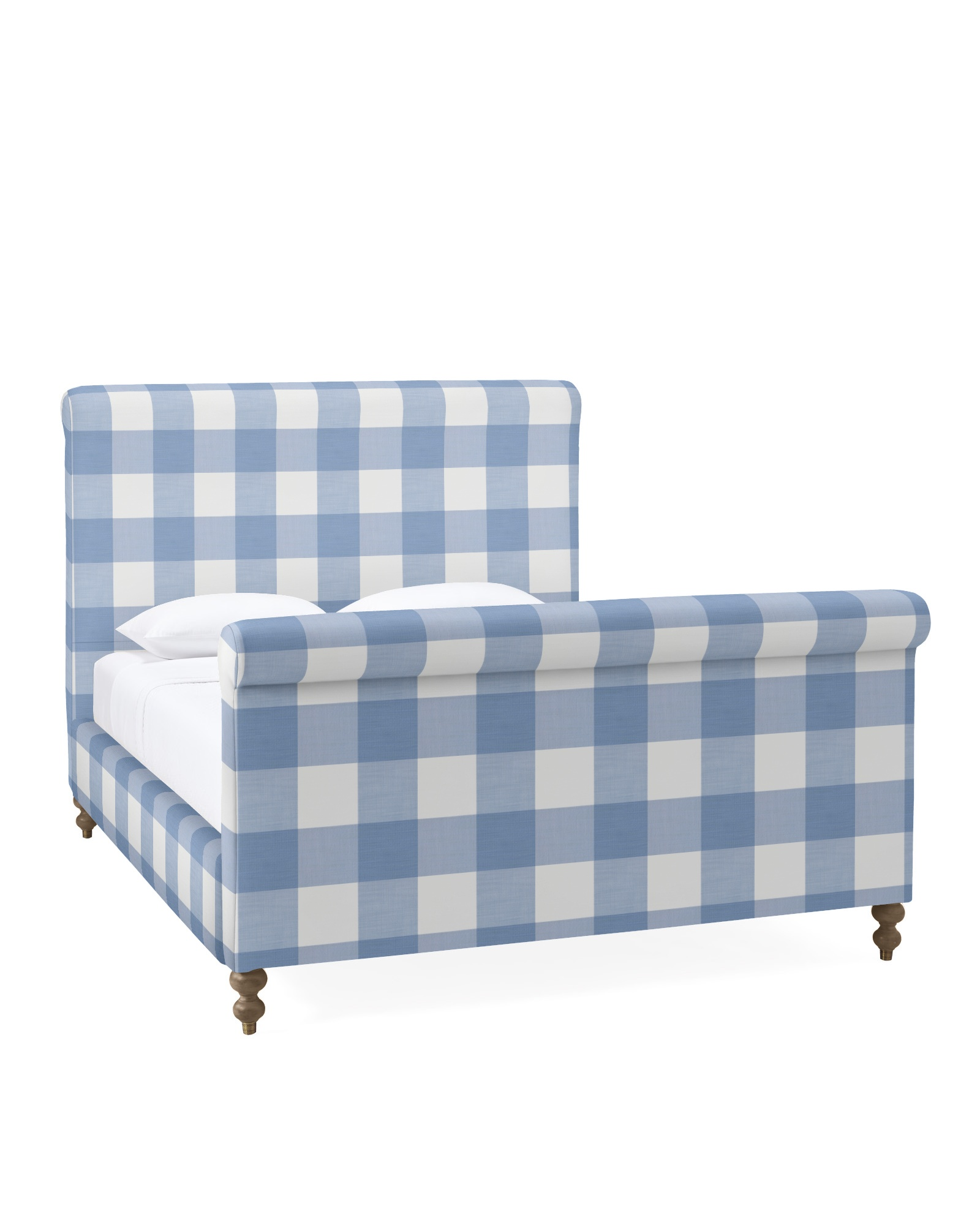 Cambridge Bed - Perennials® Coastal Blue Gingham,