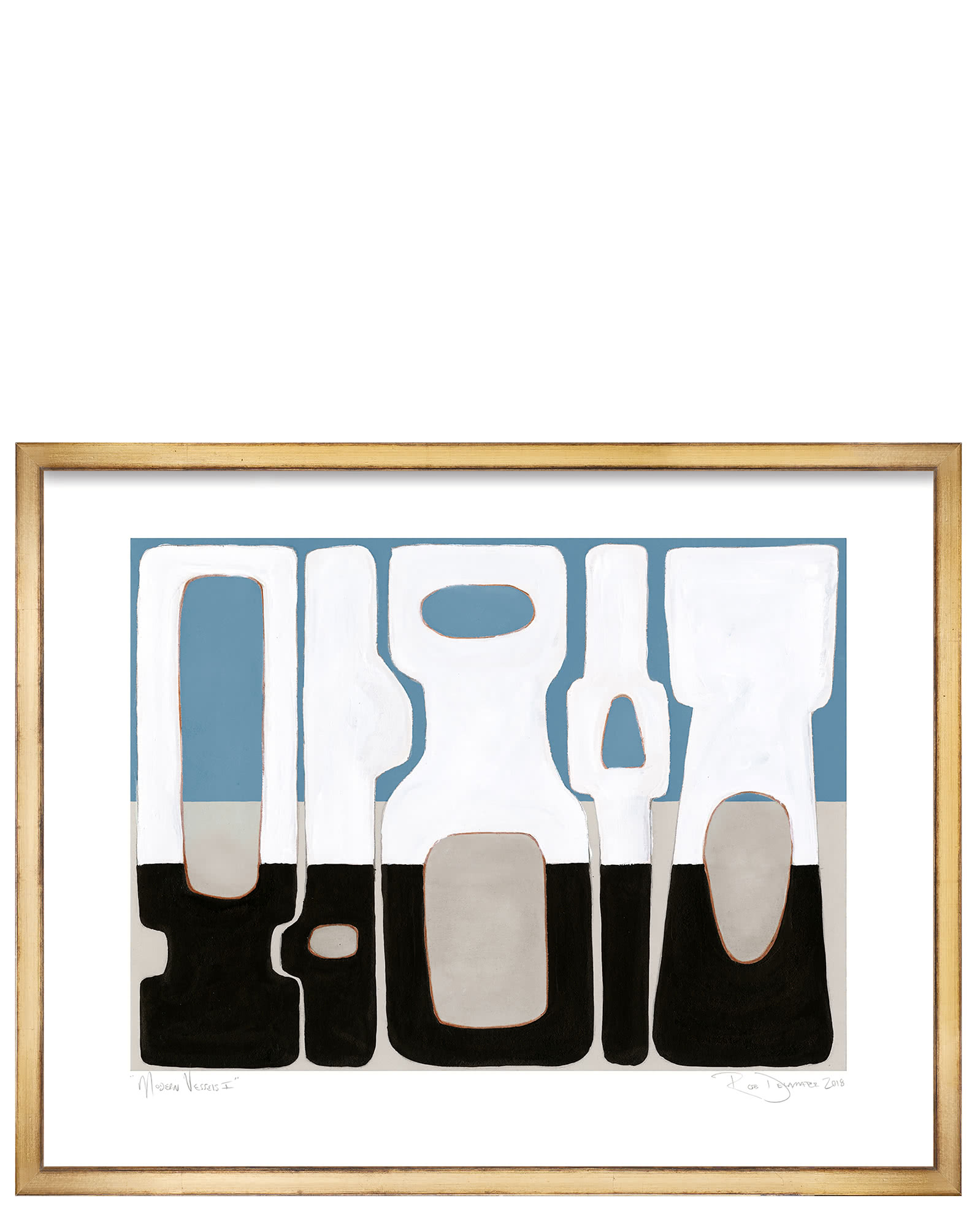 """""""Modern Vessels"""" by Rob Delamater,"""