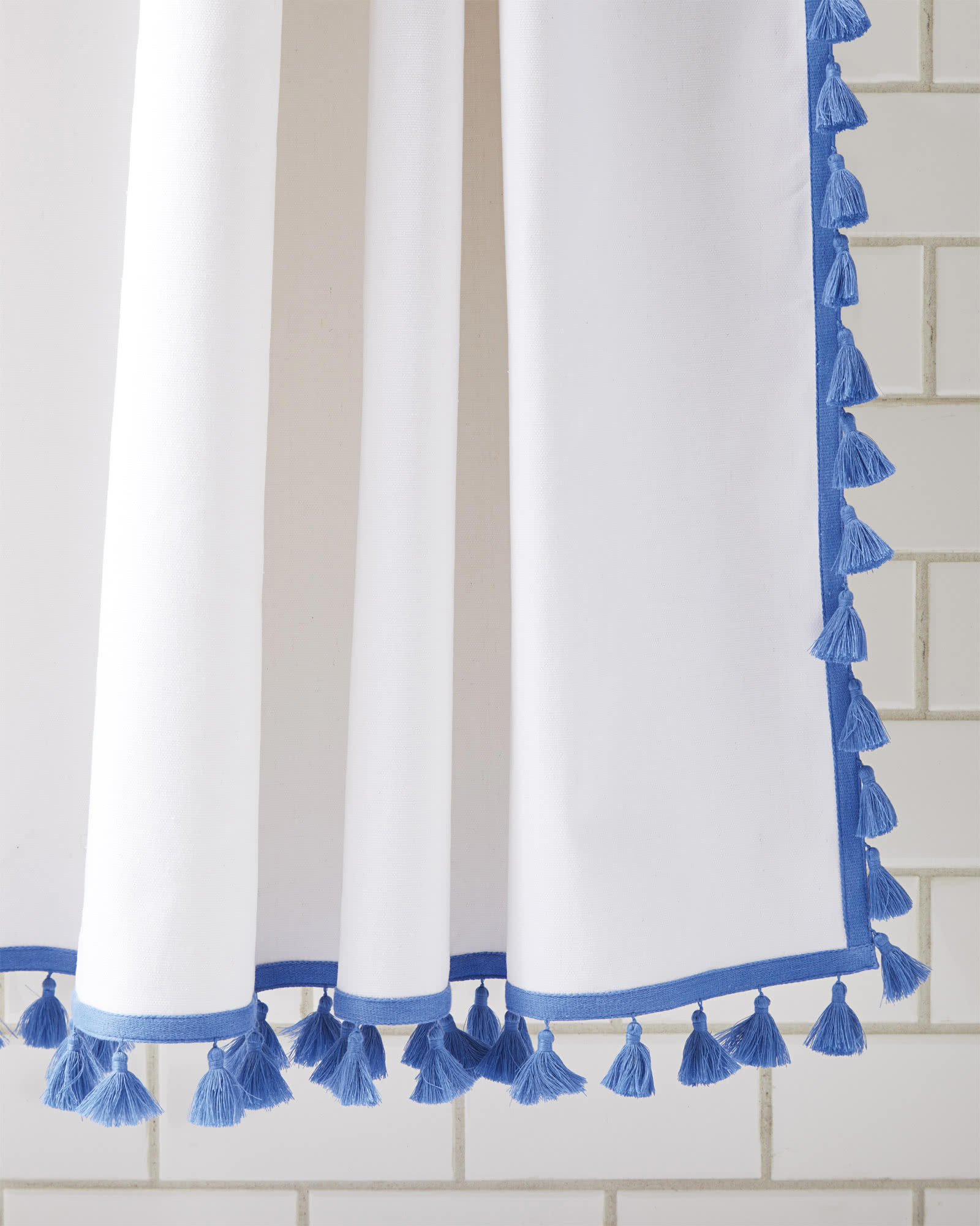 French Tassel Shower Curtain Serena Amp Lily