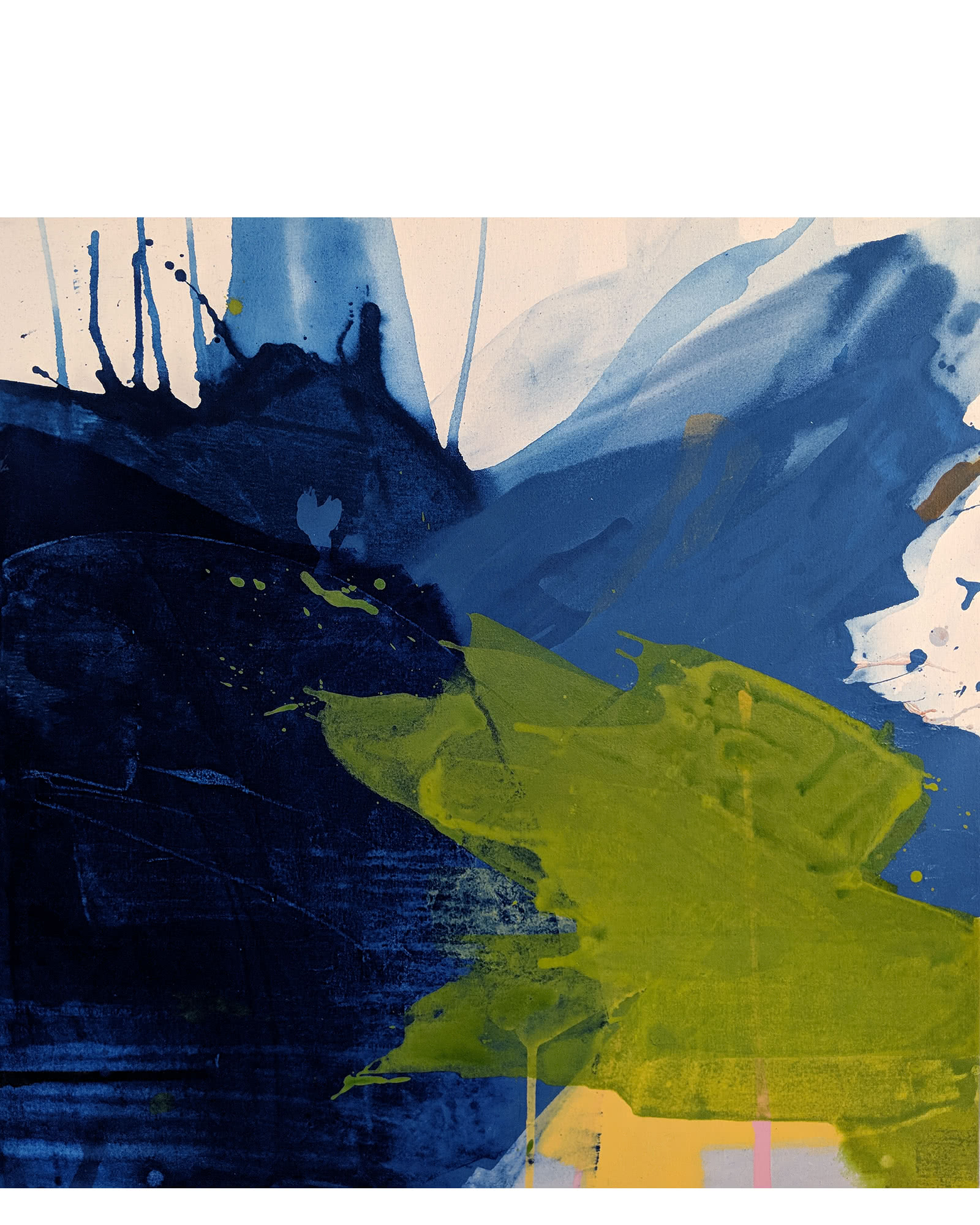 """""""Deconstructed Landscape #2"""" by Anne Abueva"""