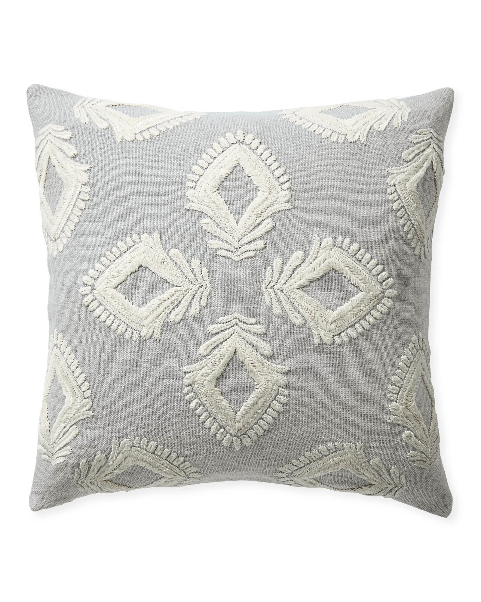 Leighton Pillow Cover, Smoke