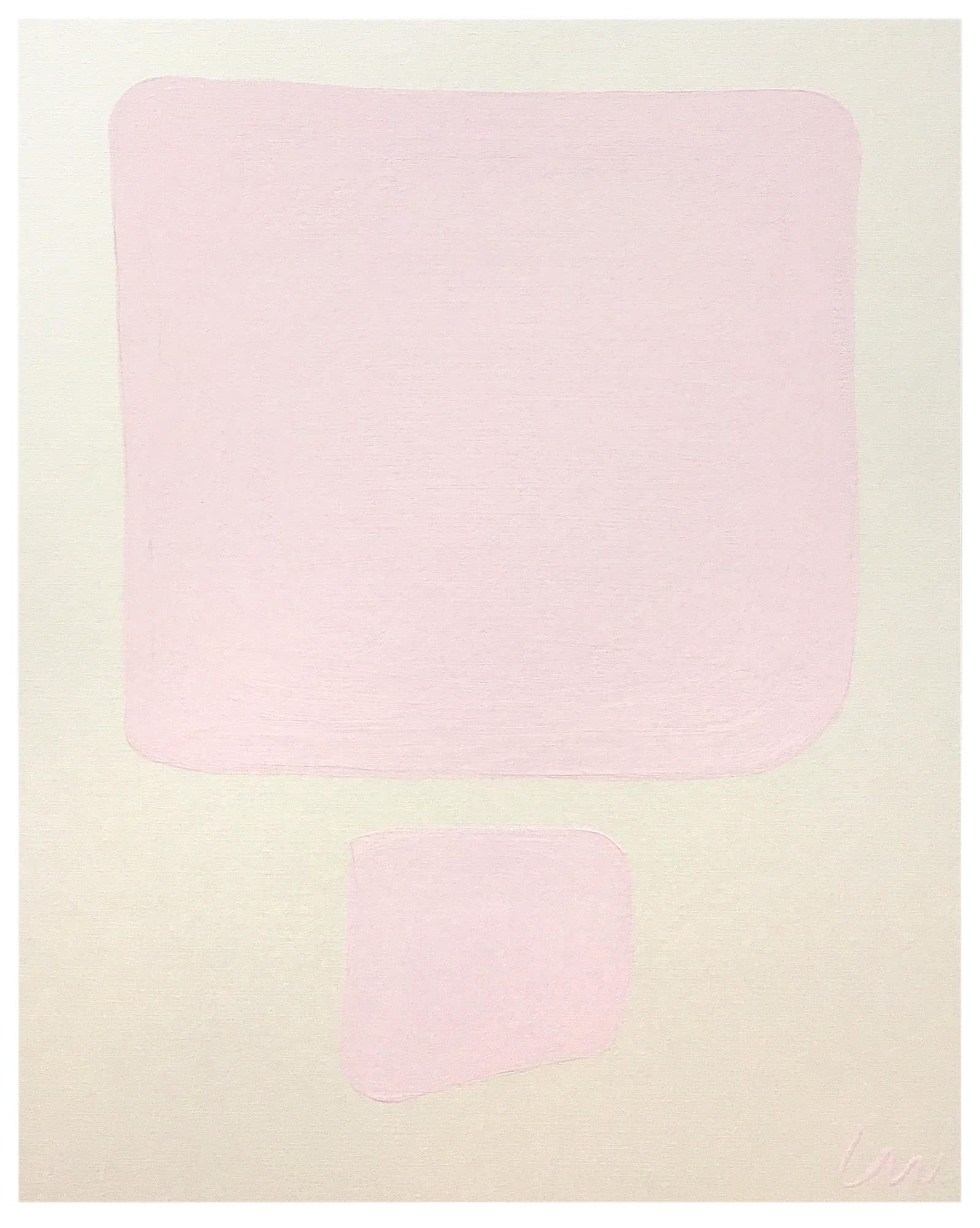 """Pink Imperfection 1"" by Whitney Stoddard,"