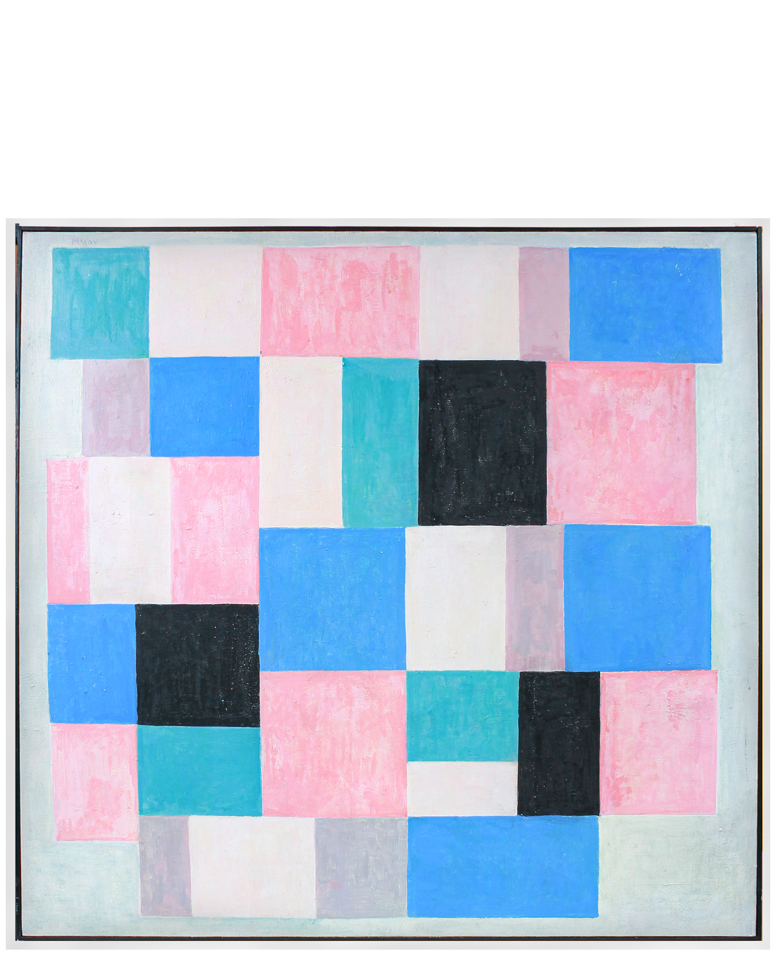 """""""Abstract Squares & Rectangles"""" by Paul McCoy,"""